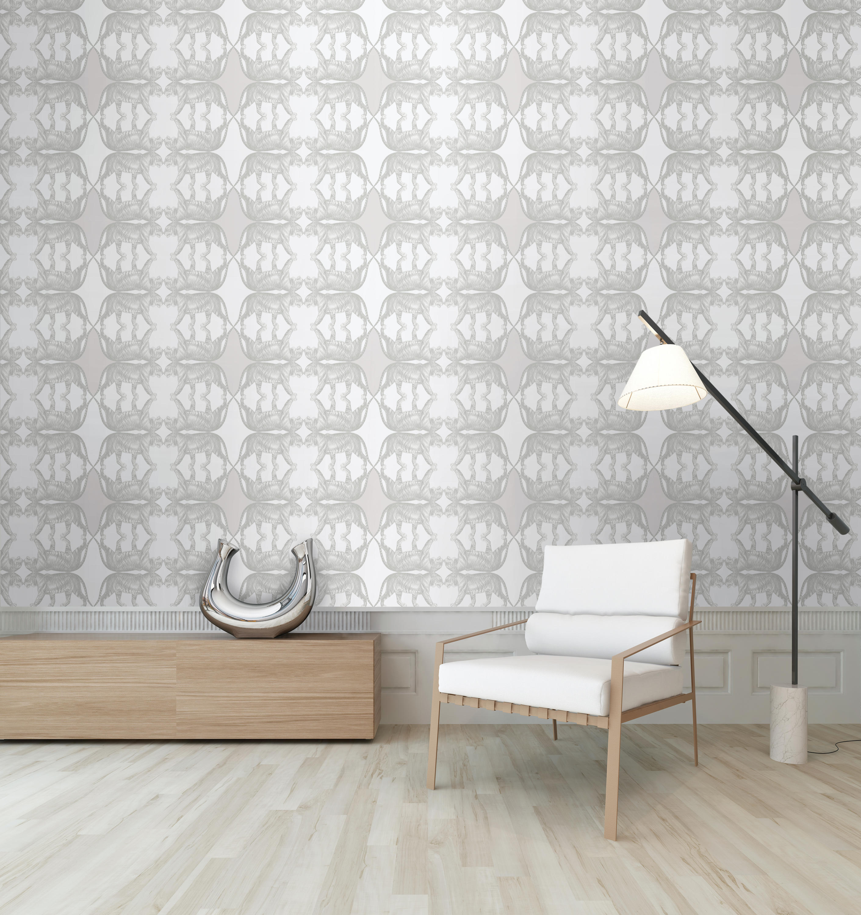 tigers teal wall coverings wallpapers from tenue de ville architonic. Black Bedroom Furniture Sets. Home Design Ideas
