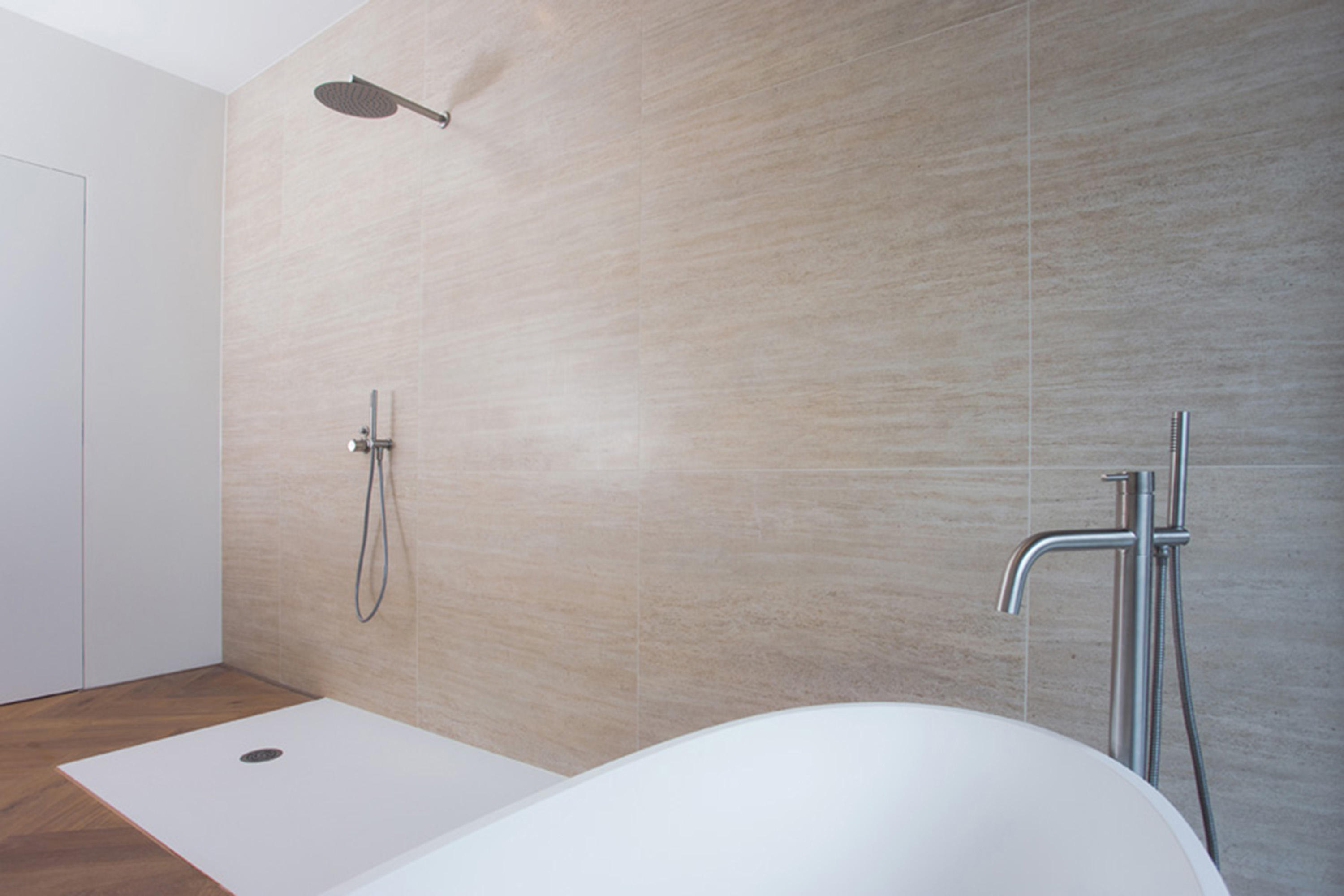 MONO 40 | FLOOR MOUNTED BATH MIXER WITH HAND SHOWER - Bath taps from ...