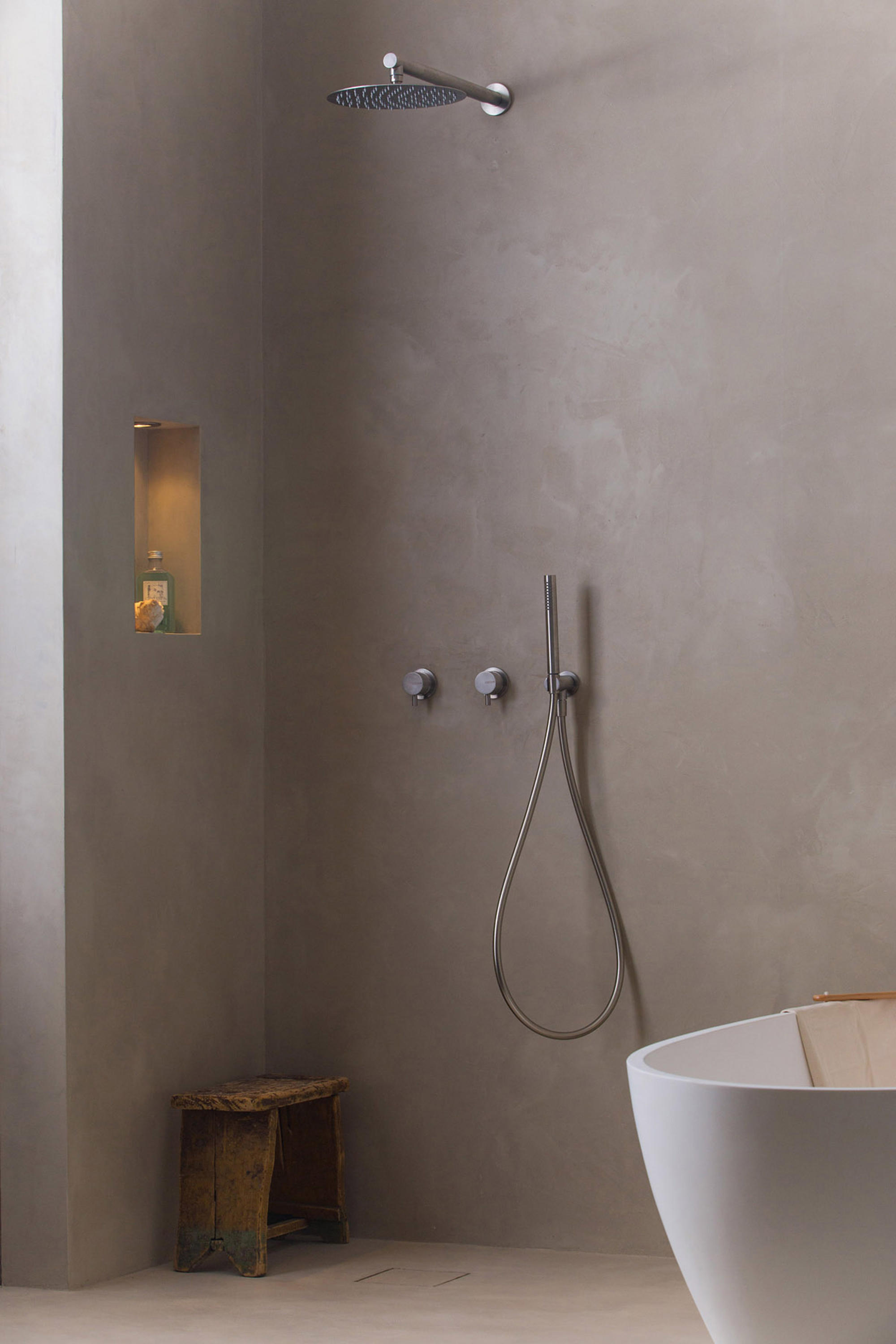 MONO SET28 | SHOWER SET WITH 2 MIXERS - Shower taps / mixers from ...