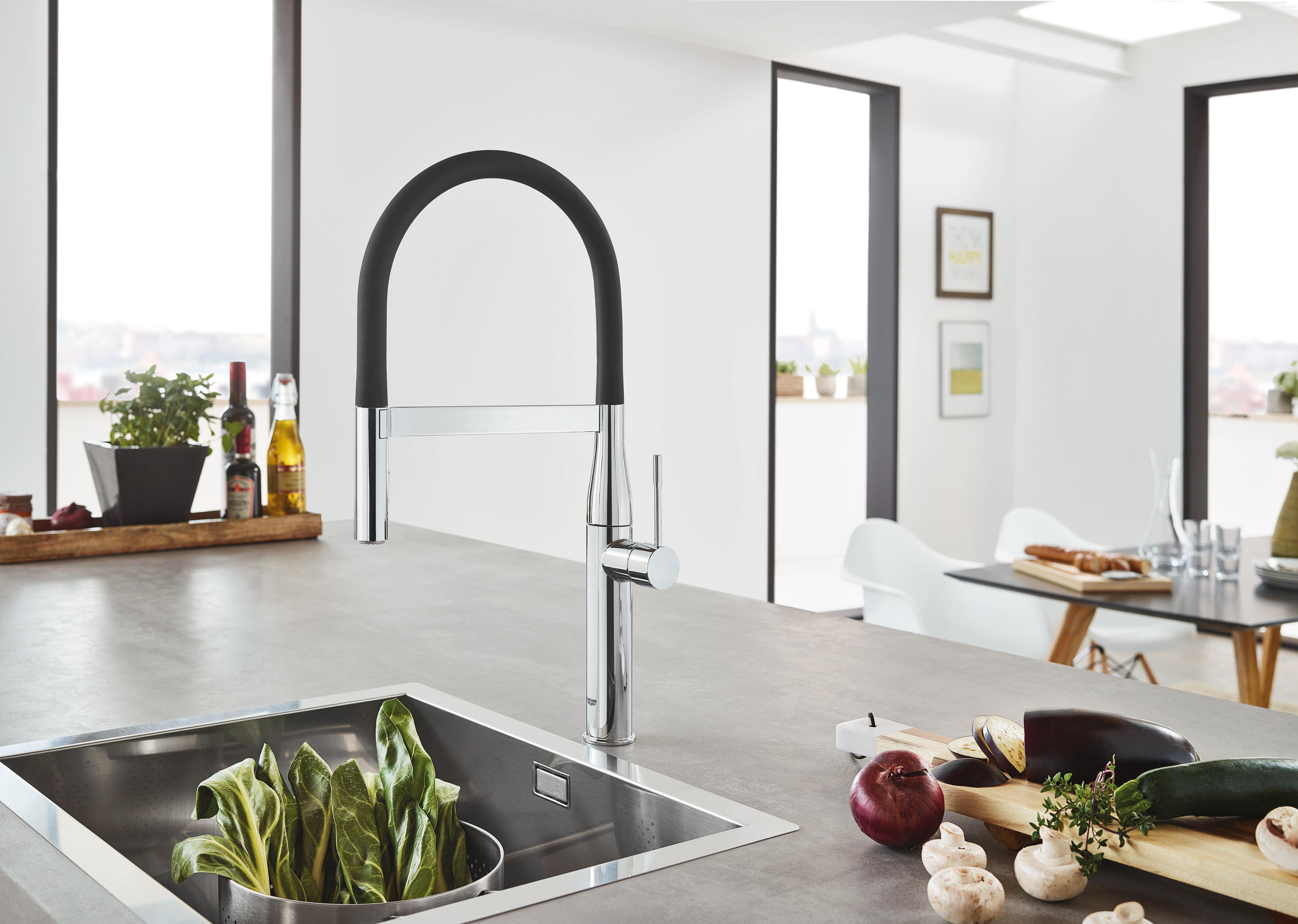 essence floor mounted tub filler bath taps from grohe usa