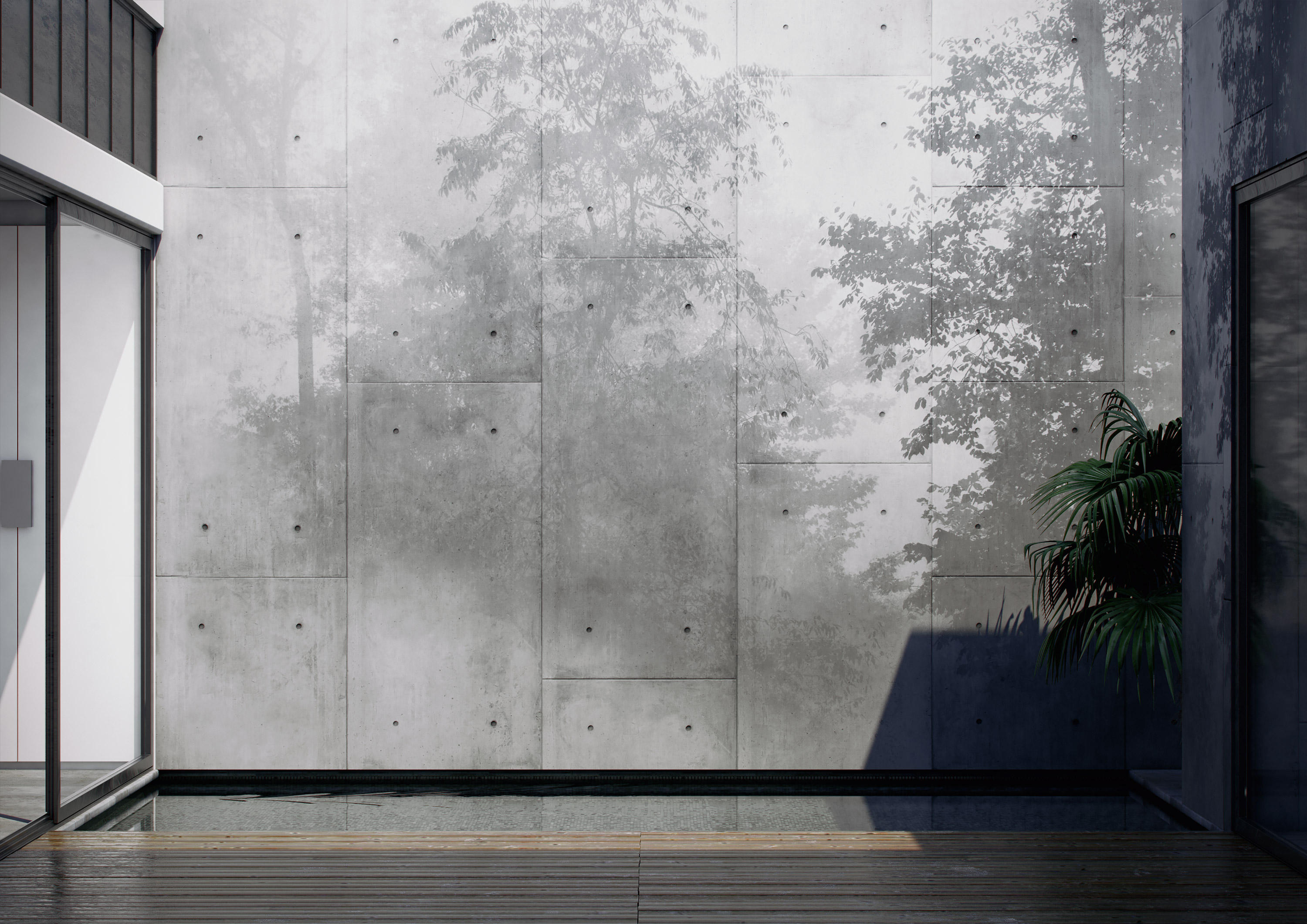 Shadow mystic wall coverings from glamora architonic for Carte da parato moderne