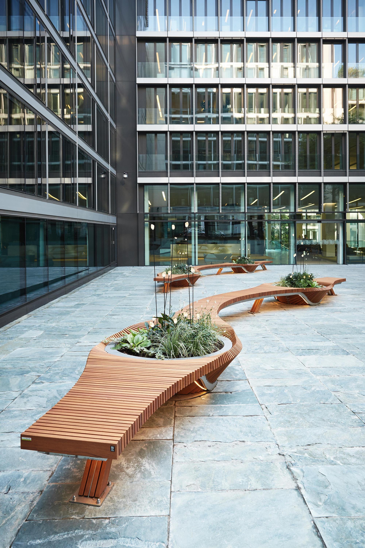 Botanic twist planters from tf urban architonic - Botanic meubles de jardin ...