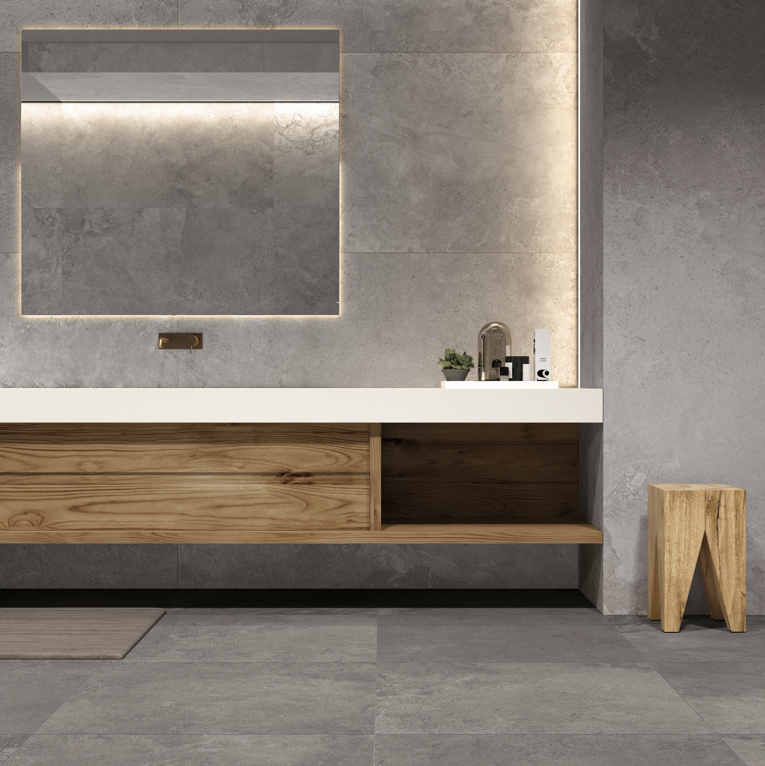 Alpes Raw Grey Floor Tiles From Abk Group Architonic