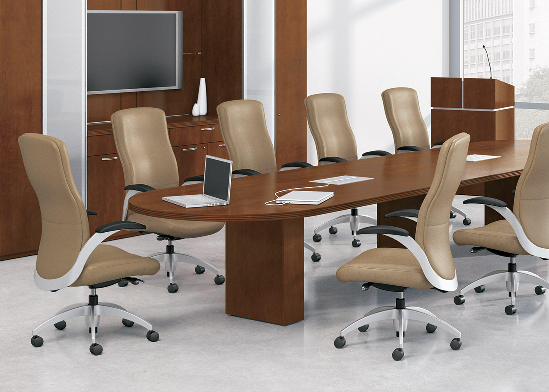 AURORA DESK - HIGH BACK - Management chairs from National Office ...