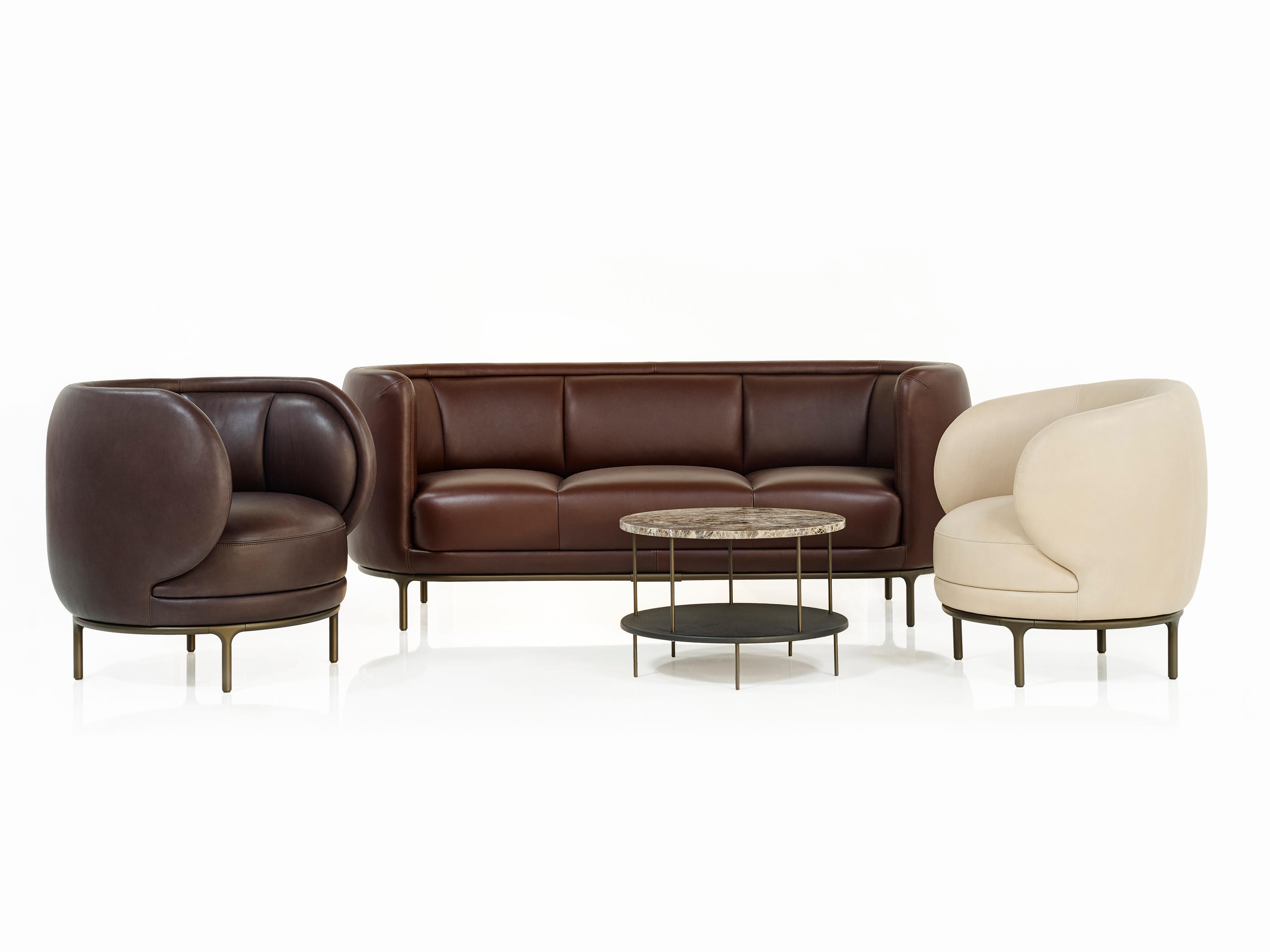 Vuelta 72 lounge chairs from wittmann architonic Sofa polster erneuern