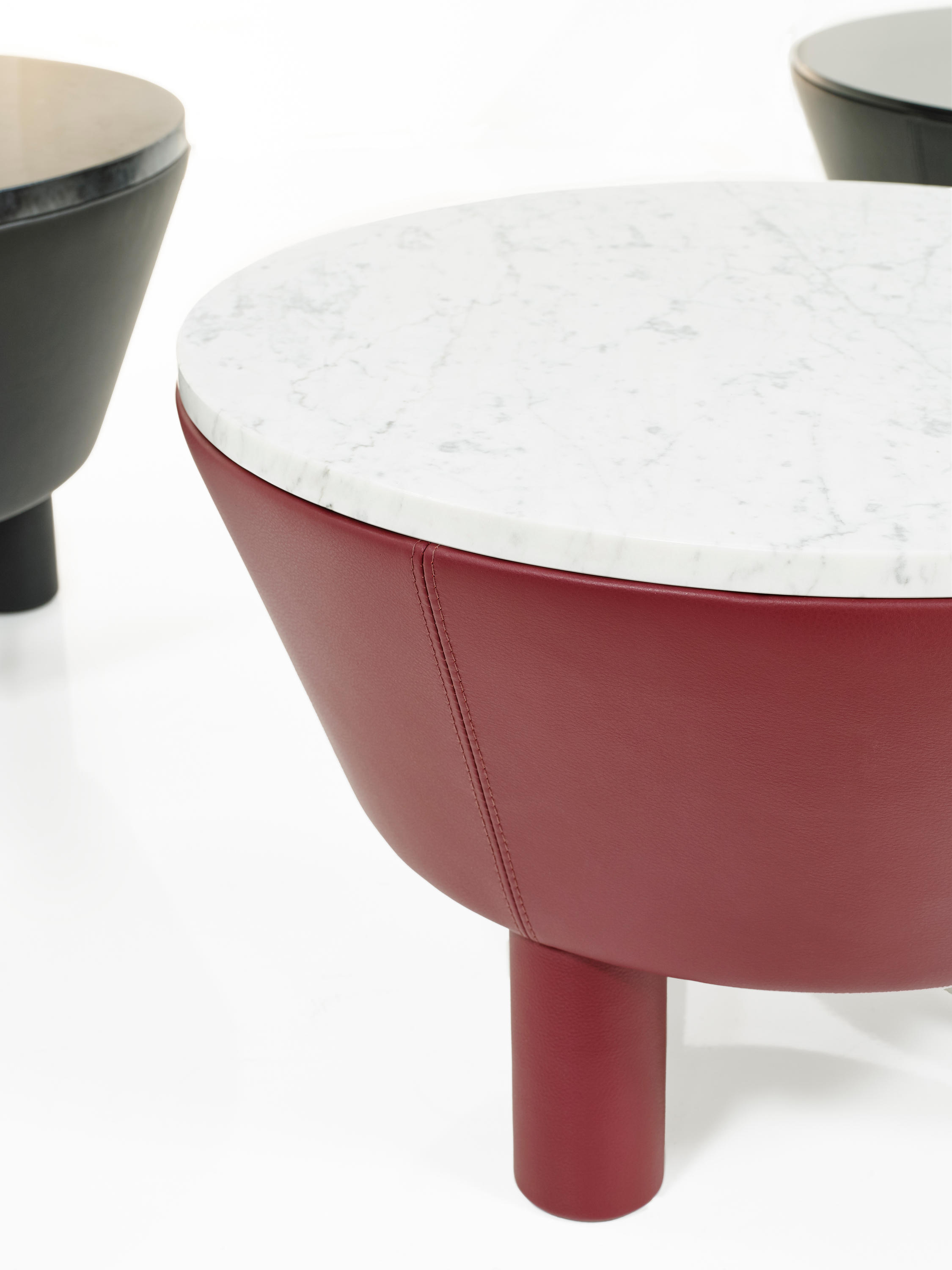 Leather Side Table 60 By Wittmann ...