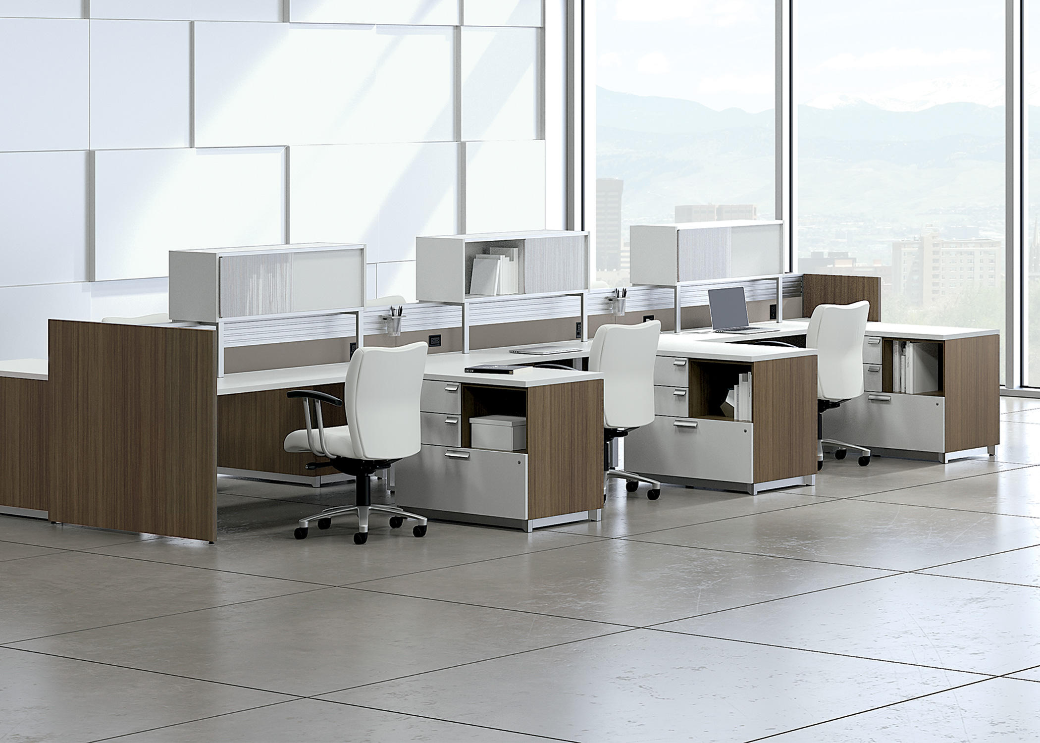 EPICENTER PARTITIONS AND DESK SYSTEMS - Power / connectivity ...