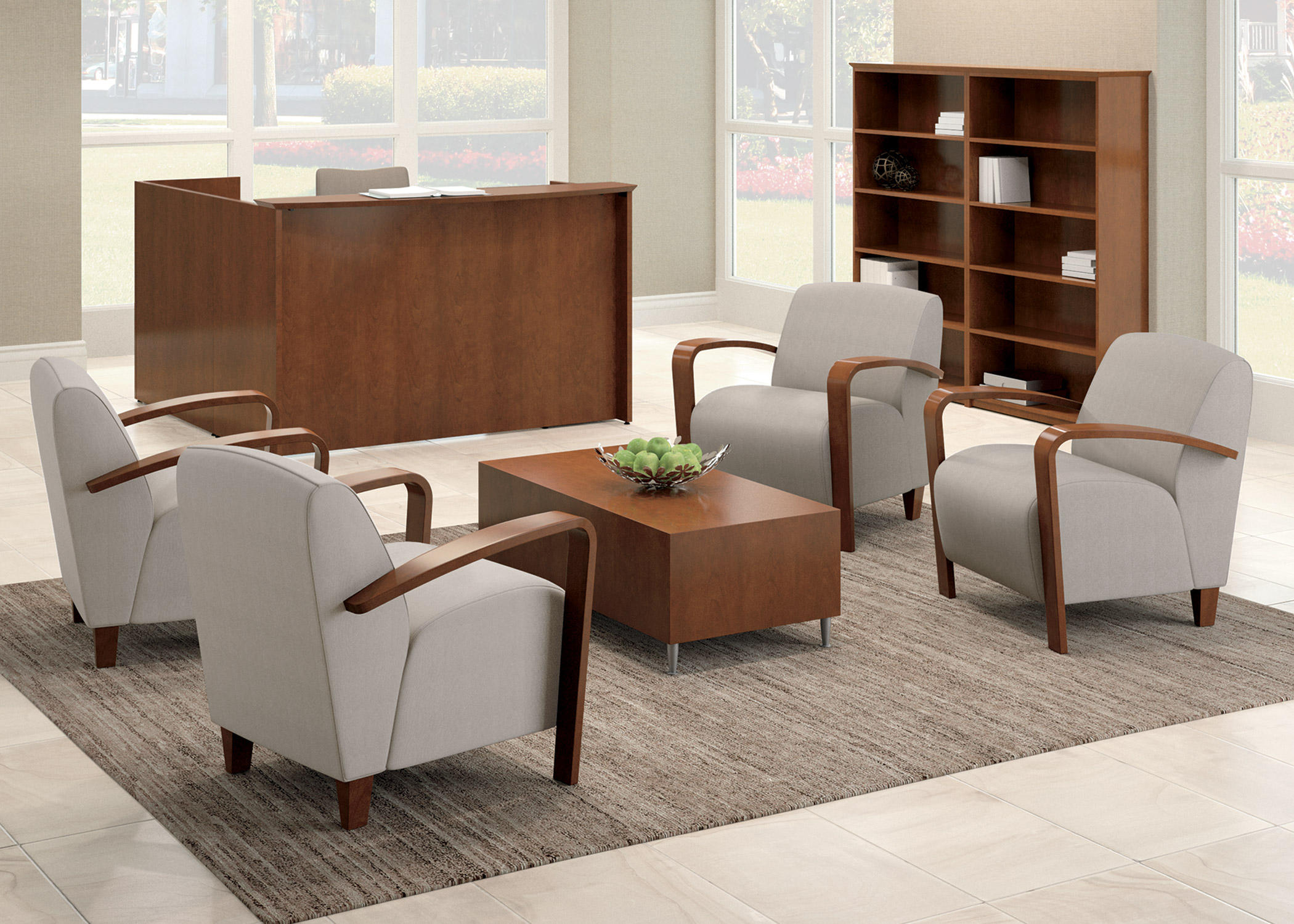 Reno 2 seat bench waiting area benches from national for Furniture nation