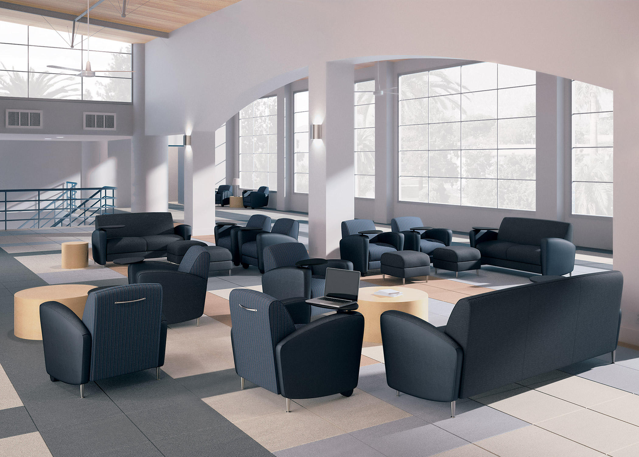 Reno 2 Seat Bench Waiting Area Benches From National