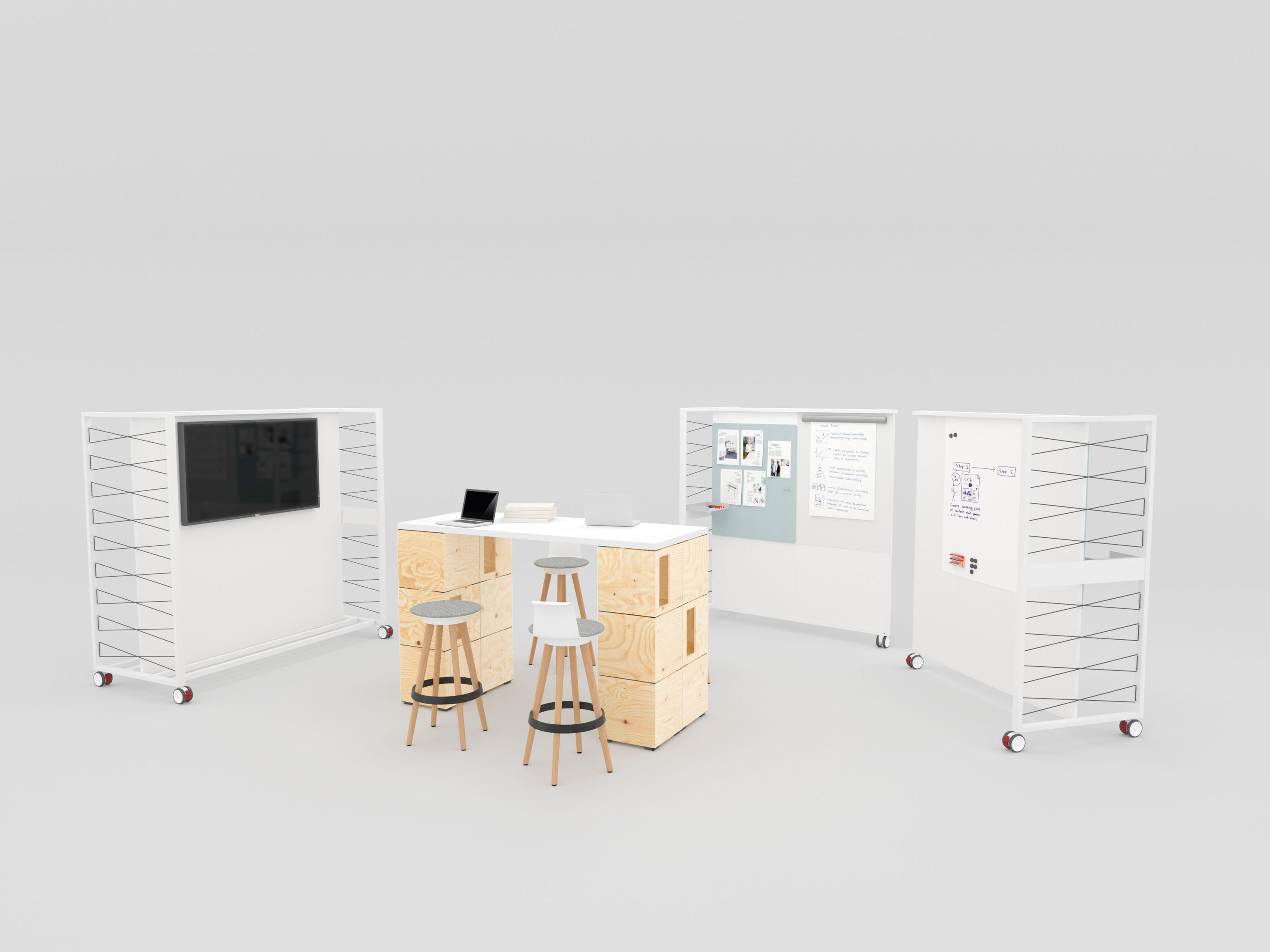PIXEL TABLE - Standing desks from Bene   Architonic