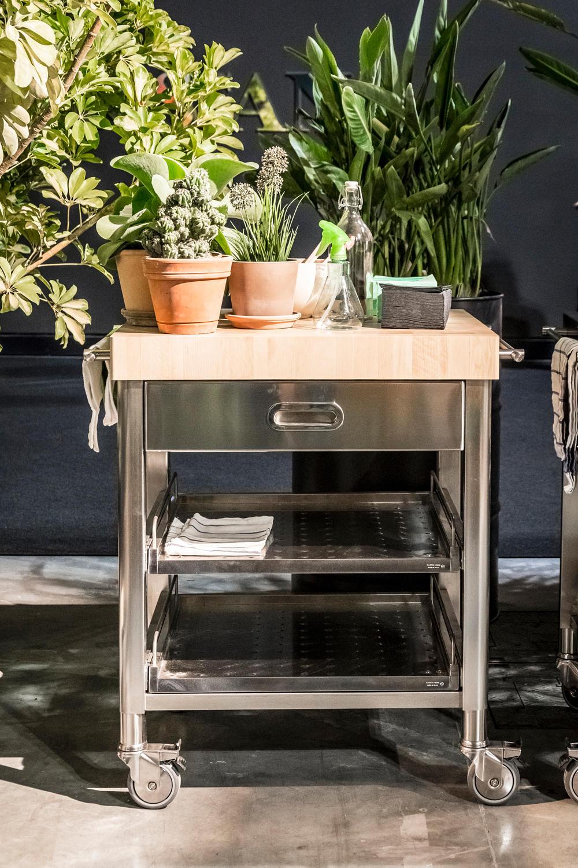 Cucine 130 cucine modulari alpes inox architonic for Cucine modulari