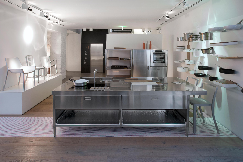 Alpes Inox Prezzi. Elegant Modulo Cucina In Acciaio Inox Isola ...