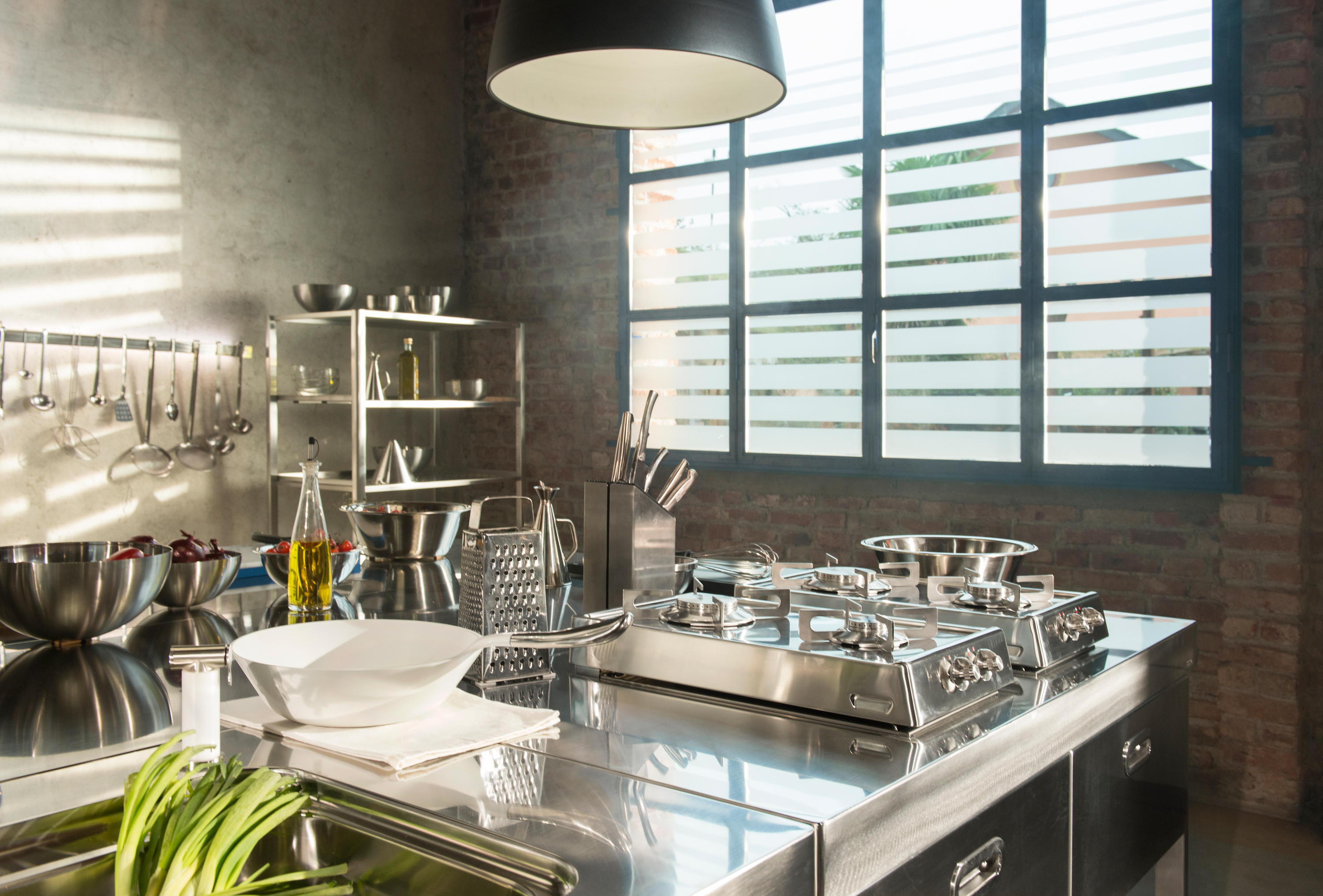 KITCHENS ISLANDS 130 - Compact kitchens from ALPES-INOX   Architonic