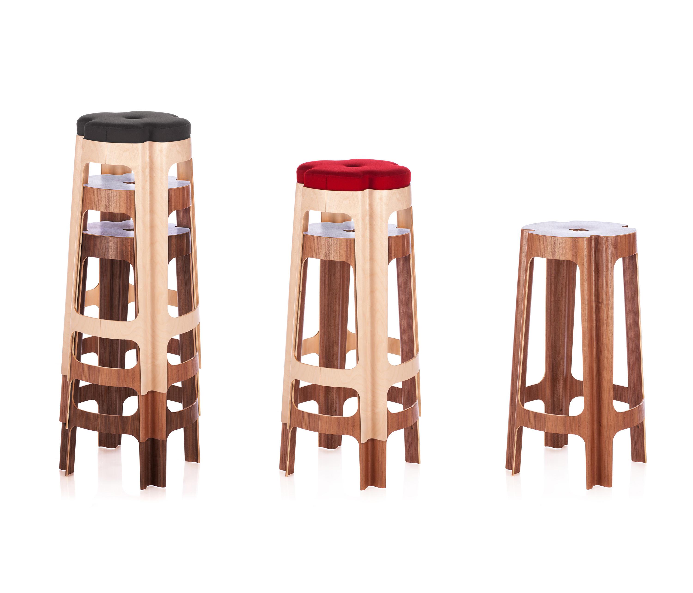 bloom bar uph medium  bar stools from riga chair  architonic -  bloom bar uph medium by riga chair