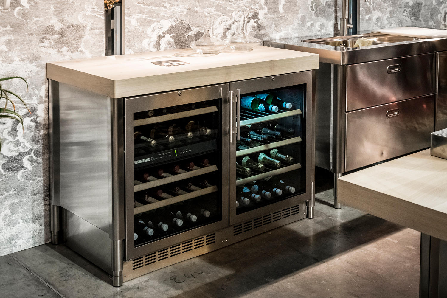Wine Cooler 70 Kitchens Wine Coolers From Alpes Inox Architonic