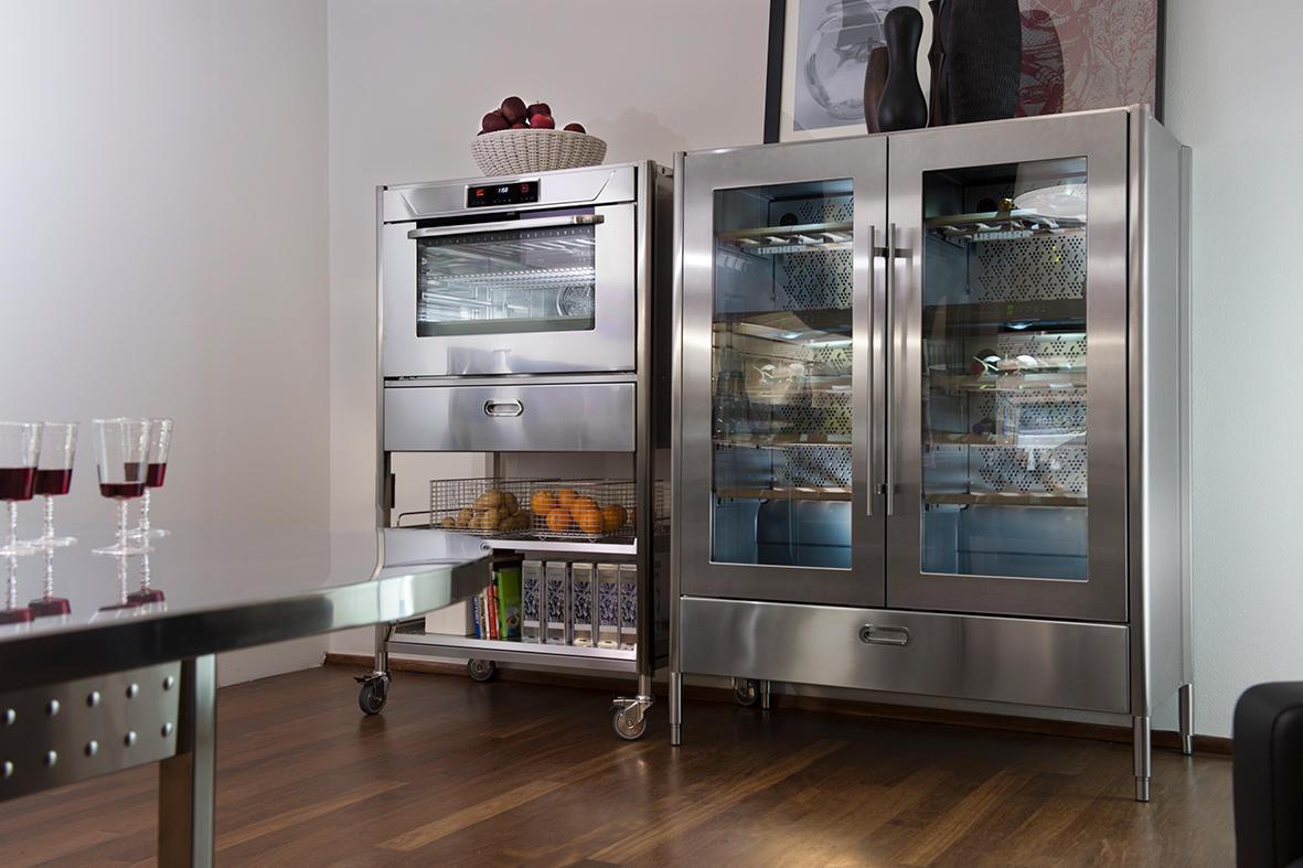 Küche Mit Weinkühlschrank weinkühlschrank küchen 70 weinkühlschränke alpes inox architonic