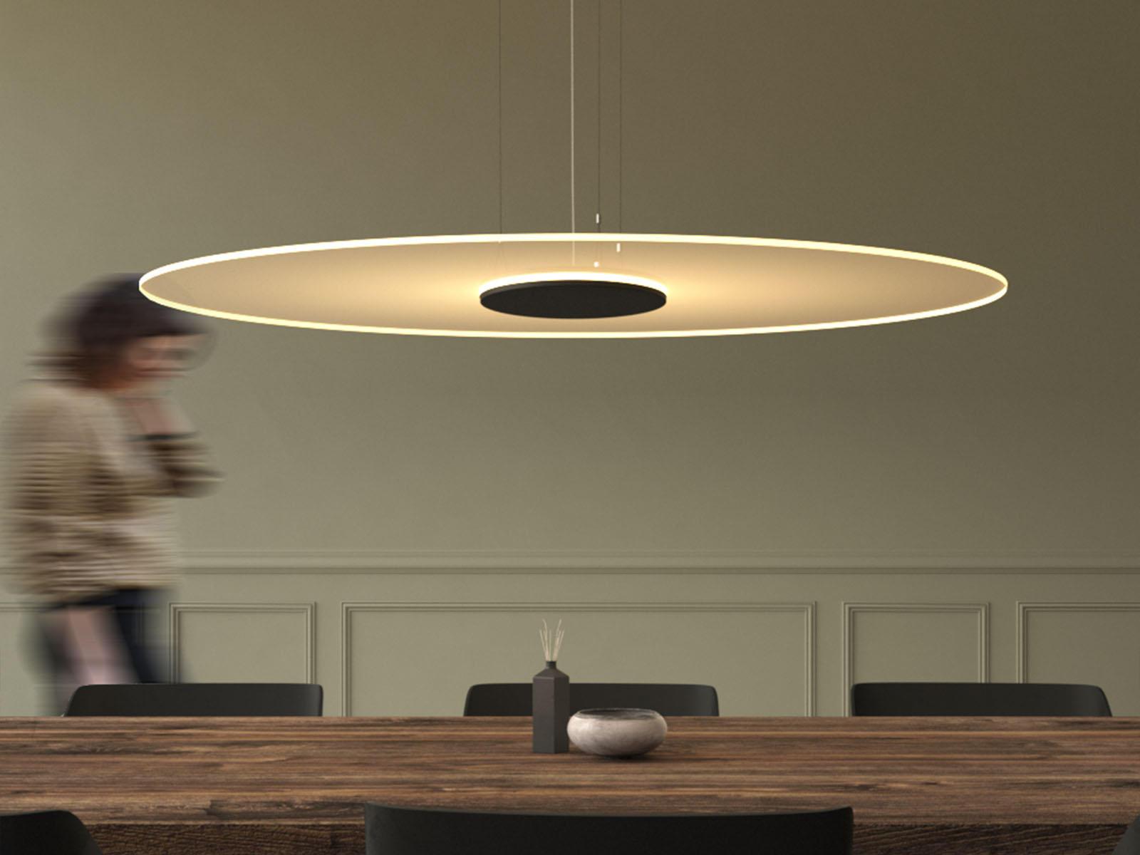 Ghost disc lampada a sospensione lampade sospensione ferrolight