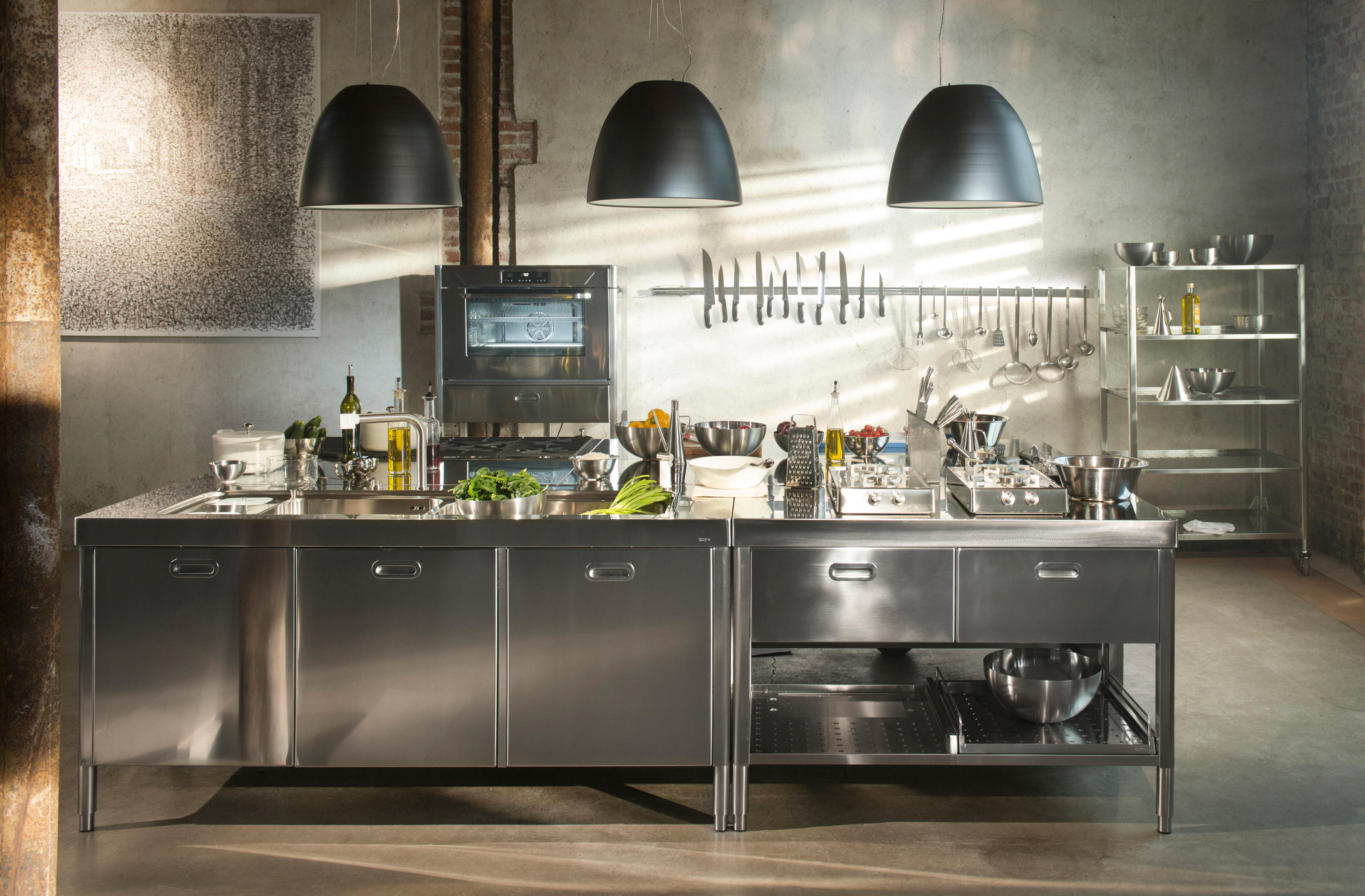 CUSTOM MADE KITCHENS - Compact kitchens from ALPES-INOX | Architonic