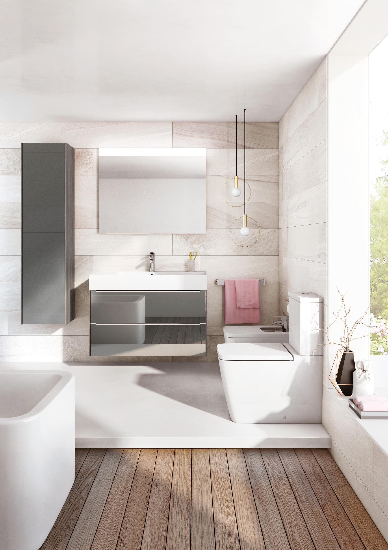 Inspira in wash wc lavant suspendu wc douches de roca for Inspira de roca