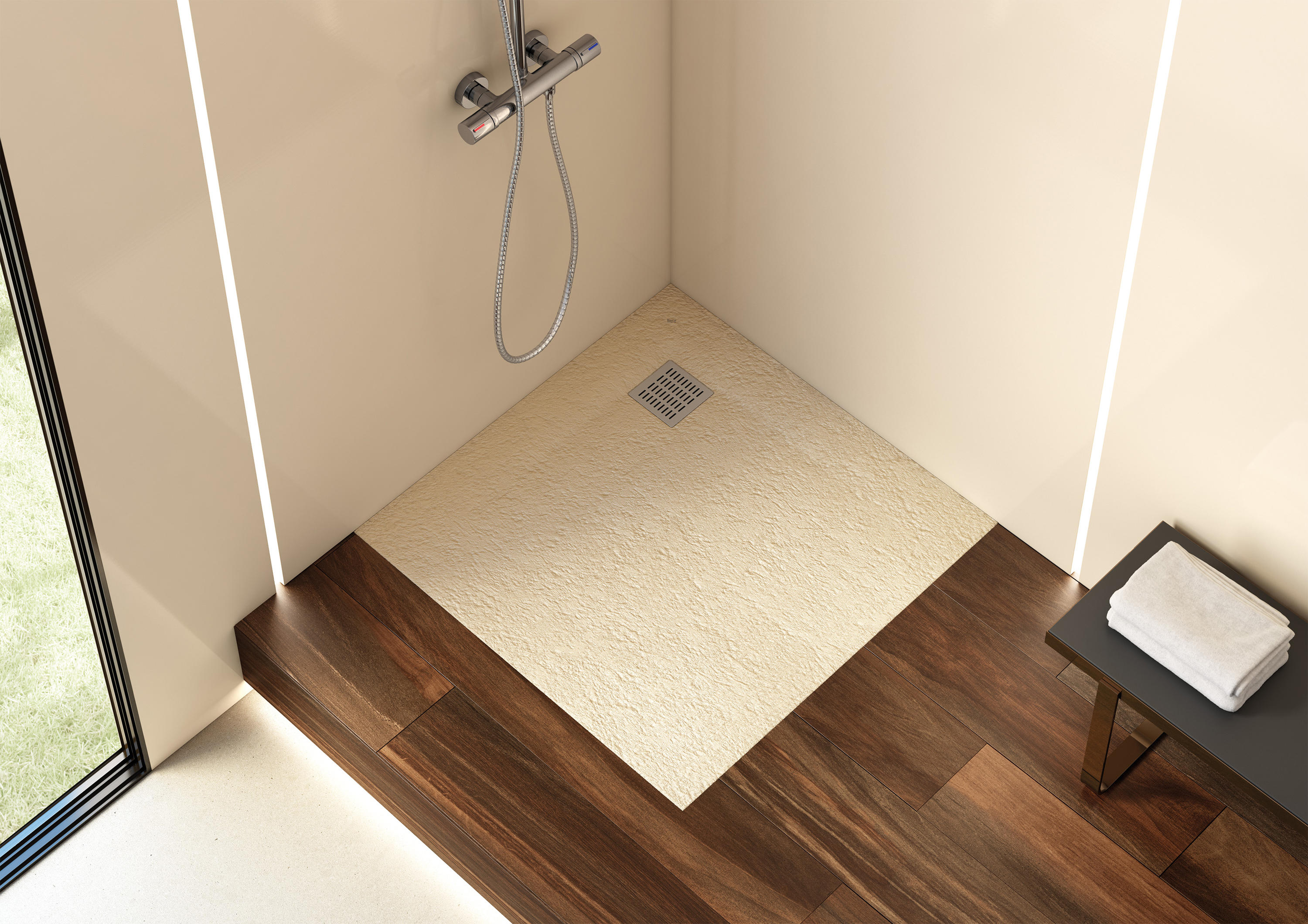 TERRAN | SHOWER TRAY - Shower trays from ROCA | Architonic