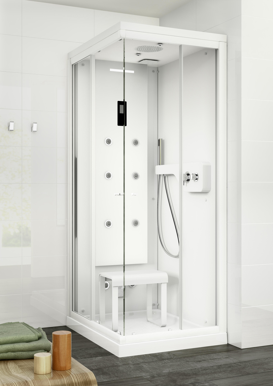 Zen cabina cabinas de ducha de roca architonic - Cabina de duchas ...