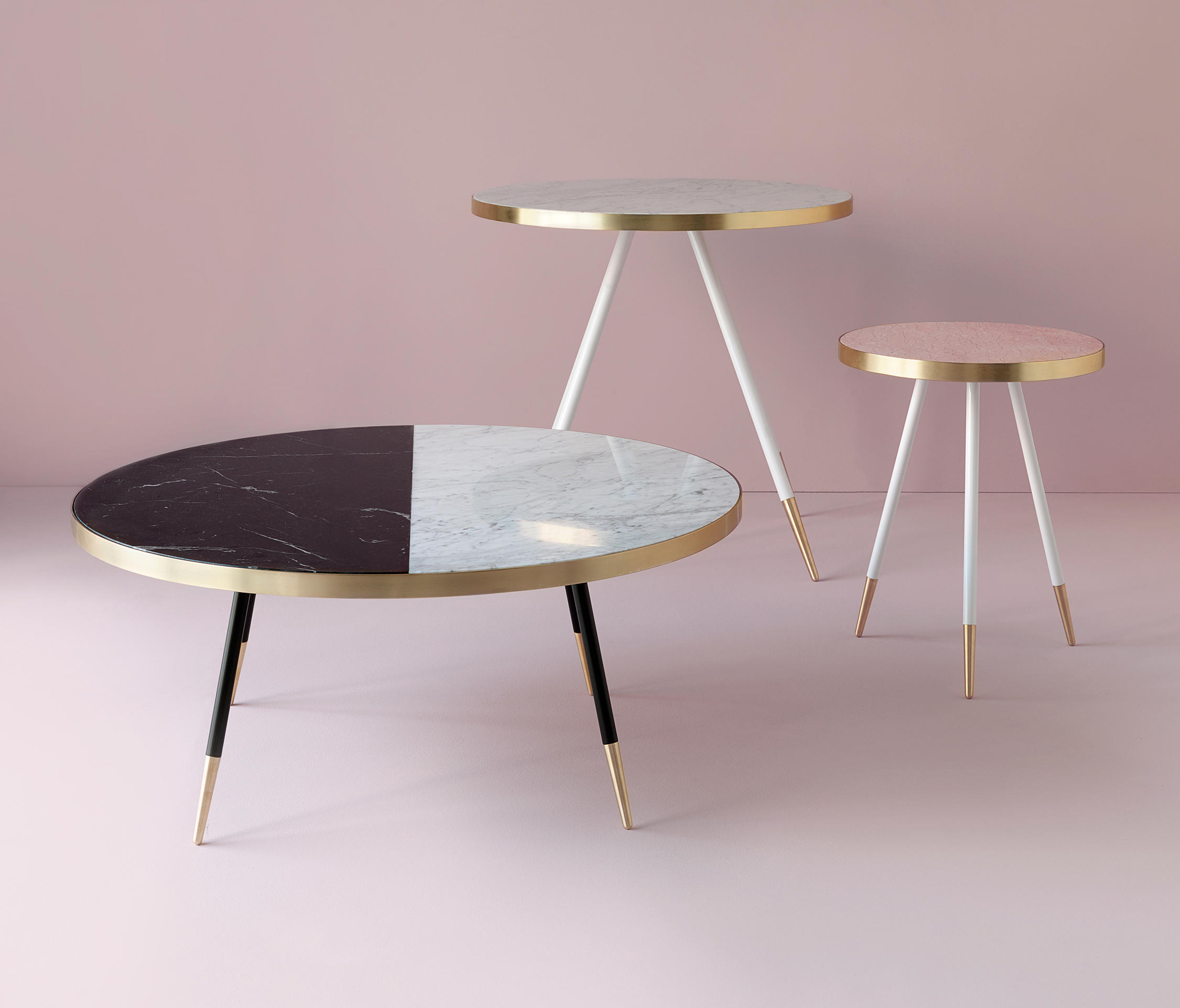 Band marble coffee table | Architonic