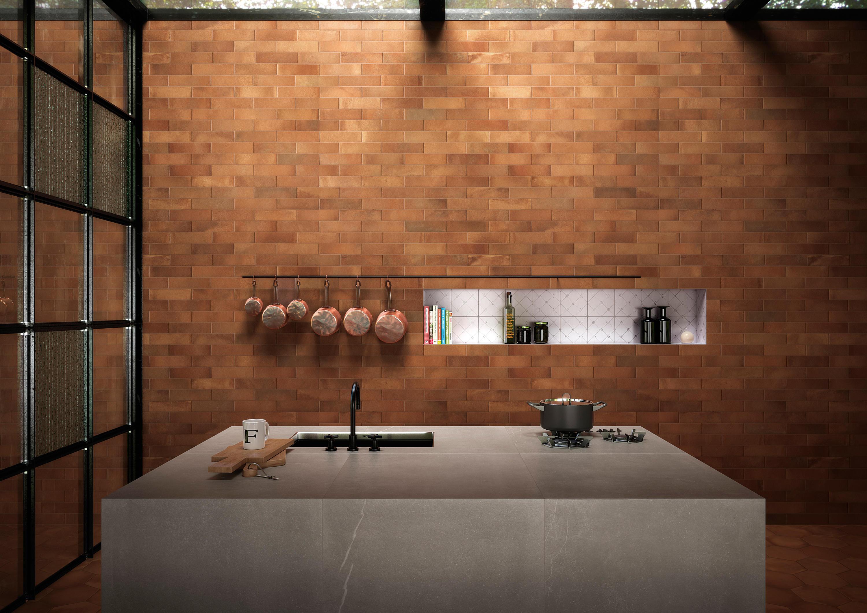 Firenze heritage rosato matt floor tiles from fap - Cucina 16 firenze ...