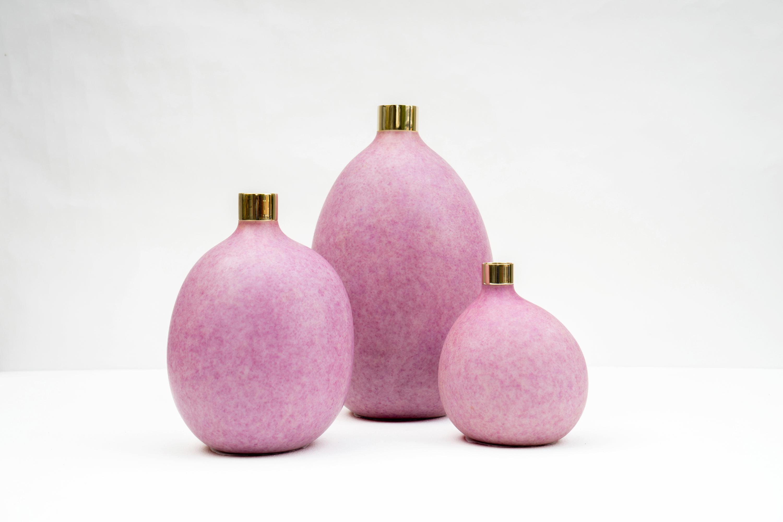 Pomme Vase Pink Vases From Tuttobene Architonic