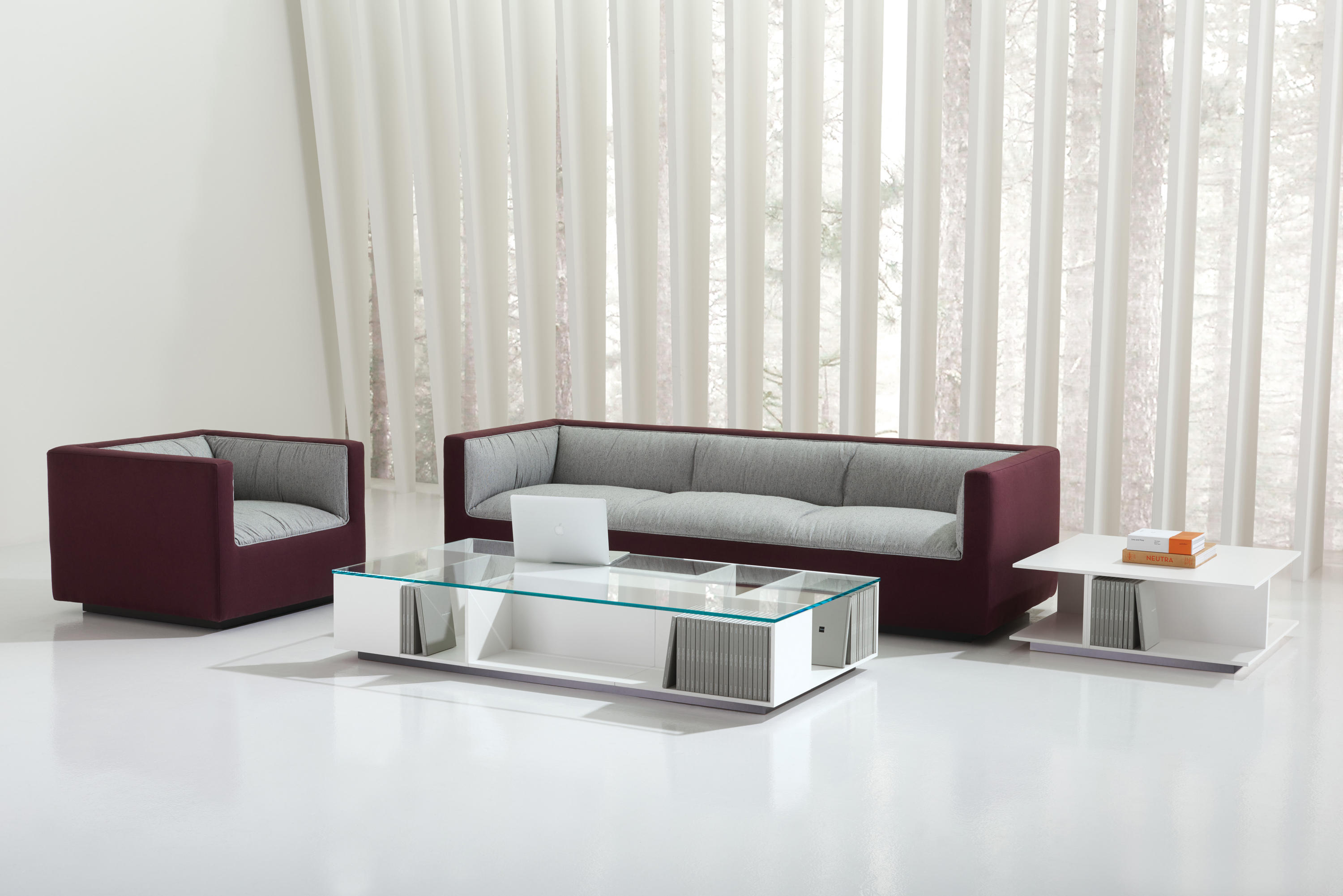 Infinito Lounge Sectional Chaise Modular Seating