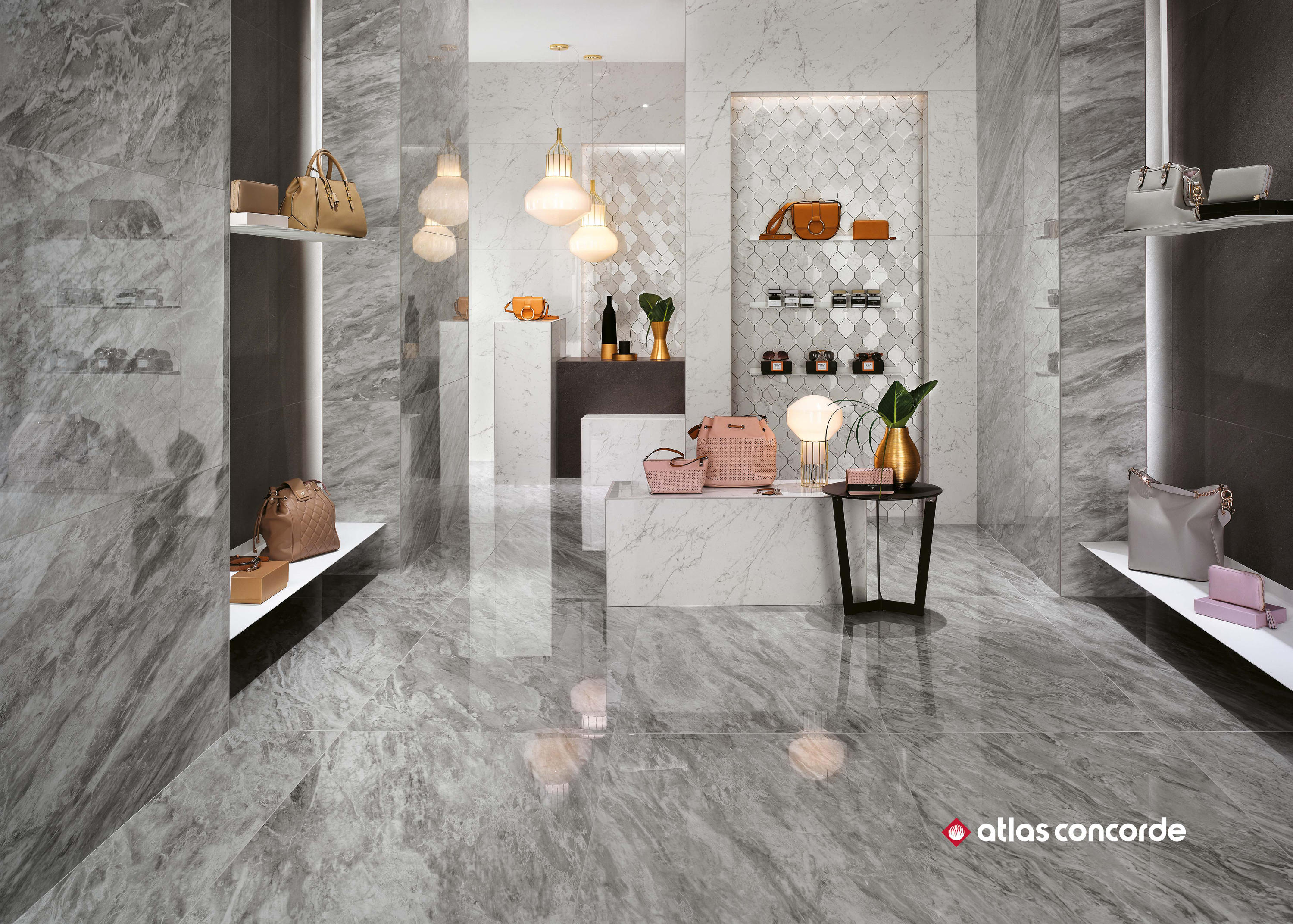 marvel stone bardiglio esagono ceramic tiles from atlas