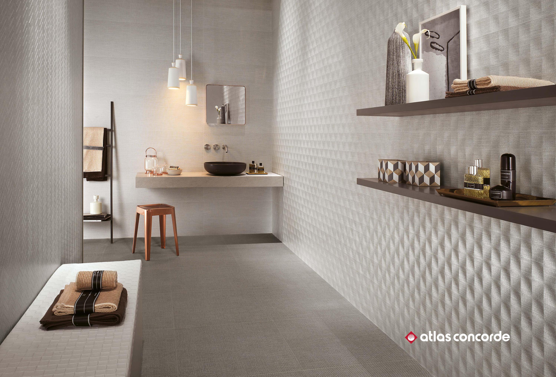 Room cord mosaico ceramic panels from atlas concorde for Gres porcellanato carrelage