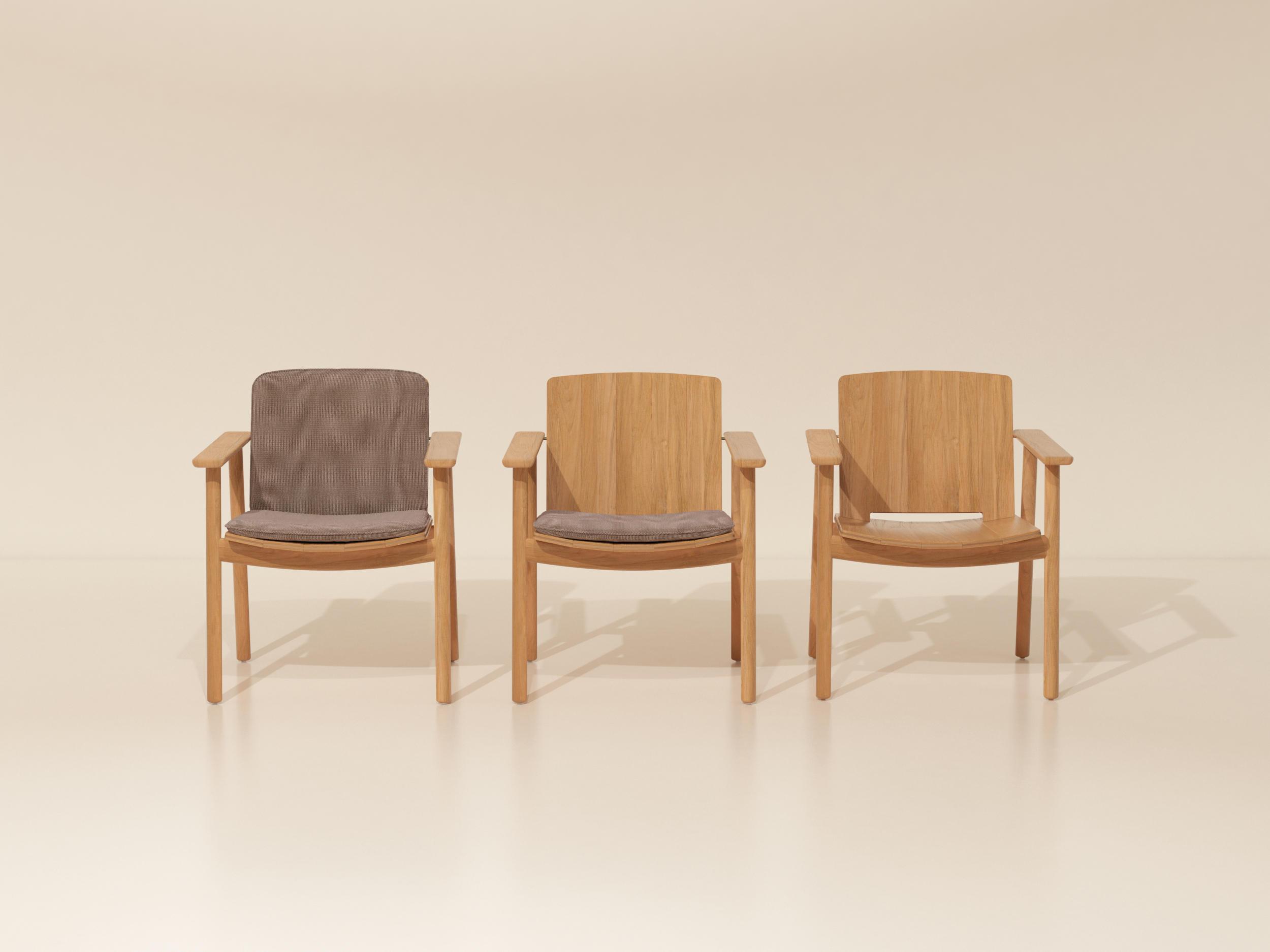 Riva dining armchair sillas de jard n de kettal architonic for Kettal muebles jardin