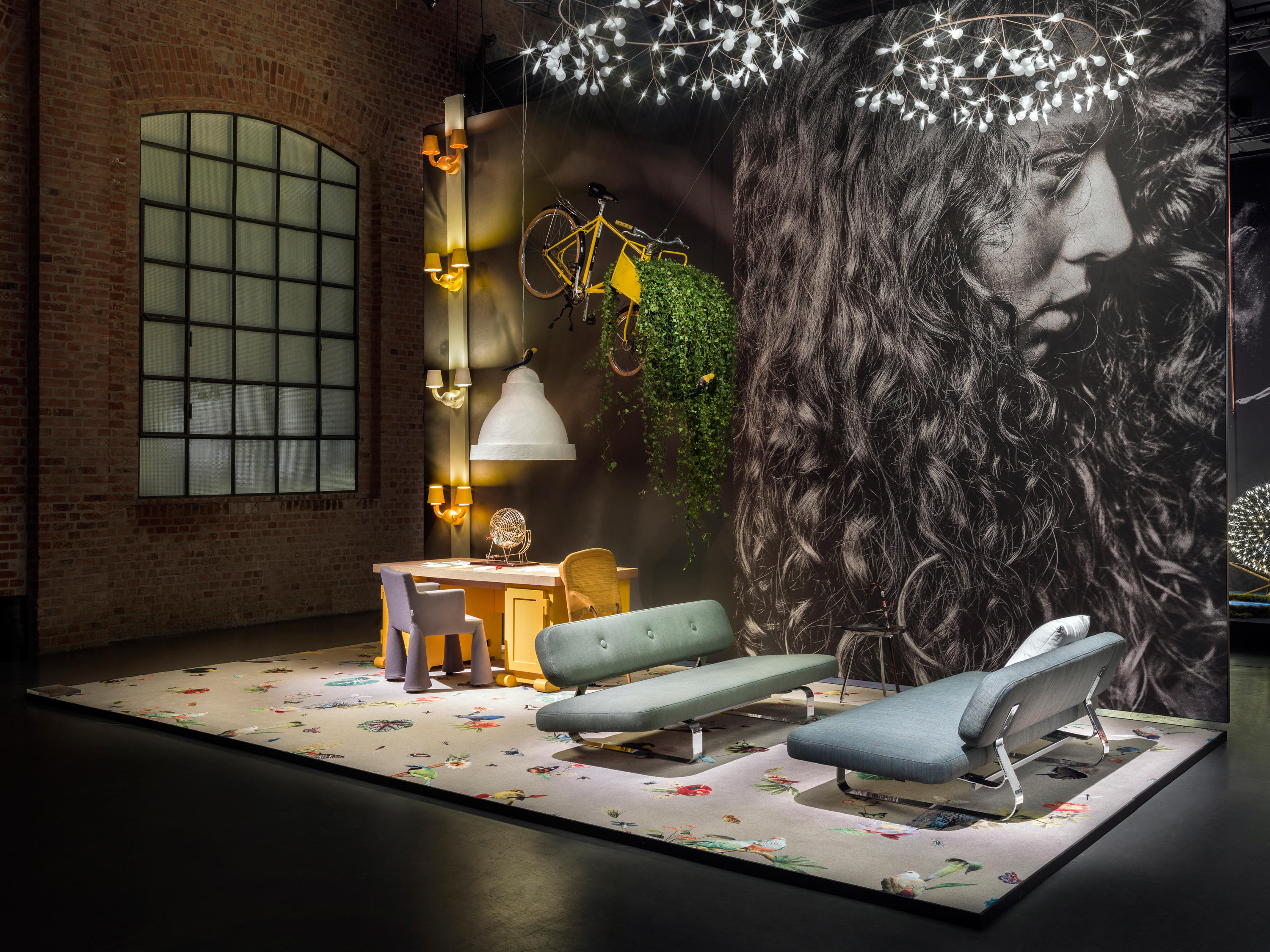 garden of eden bird broadloom by moooi carpets