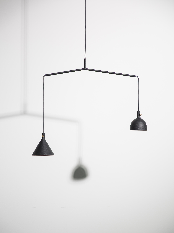 Cast pendant lamp shape 1 black iluminacin general de menu cast pendant lamp shape 1 black de menu aloadofball Images