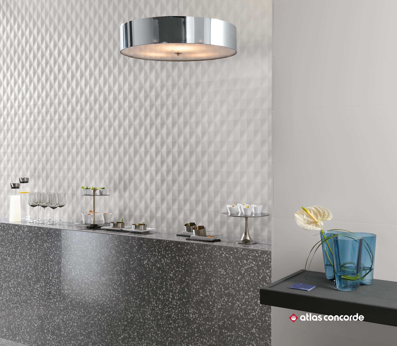 Atlas Concorde 3d wall mesh ceramic tiles from atlas concorde architonic