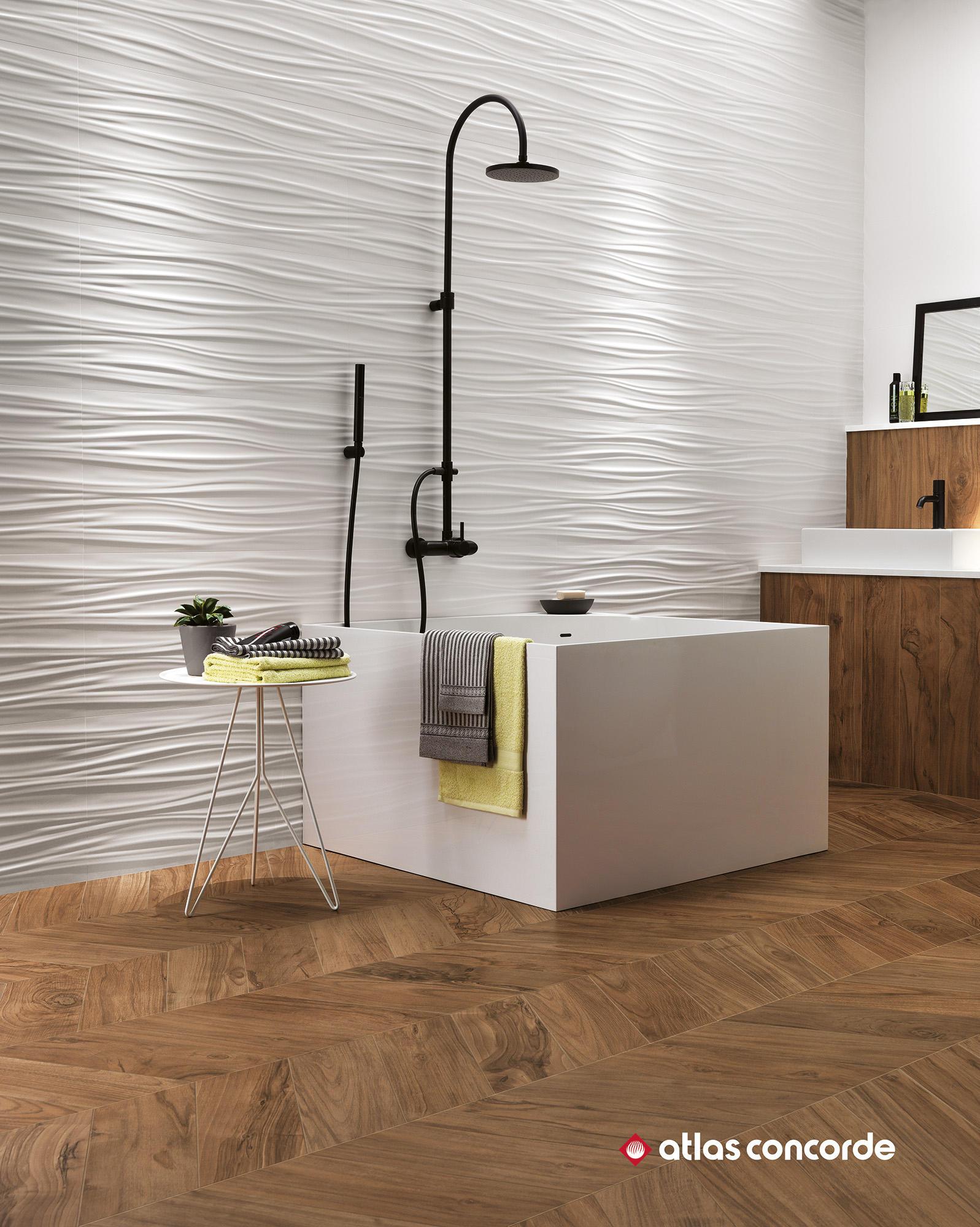 3d wall dune sand ceramic tiles from atlas concorde architonic - Atlas concorde bagno ...