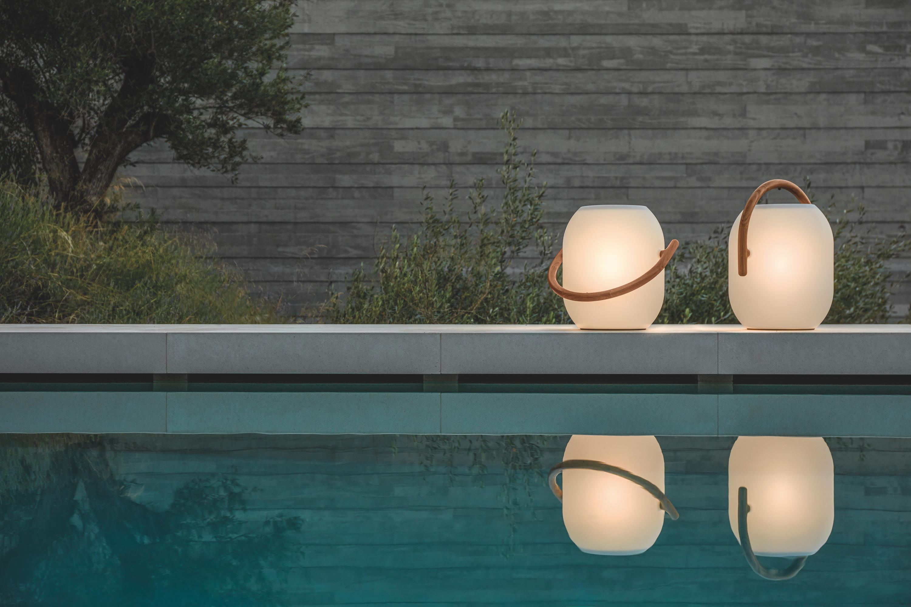 Ambient Cocoon Freestanding Floor Lamps From Gloster