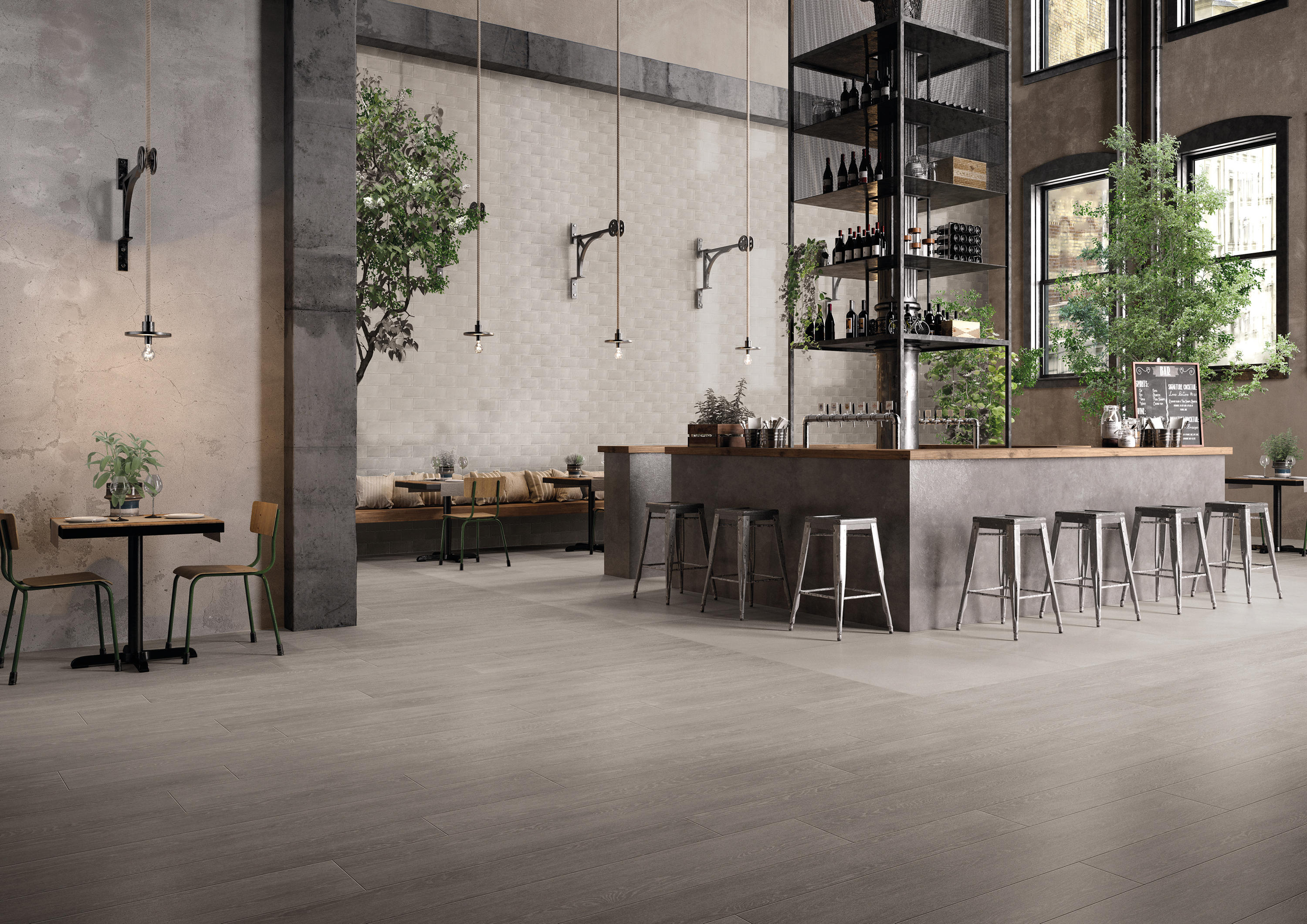 tr3nd concrete taupe floor tiles from emilgroup architonic. Black Bedroom Furniture Sets. Home Design Ideas