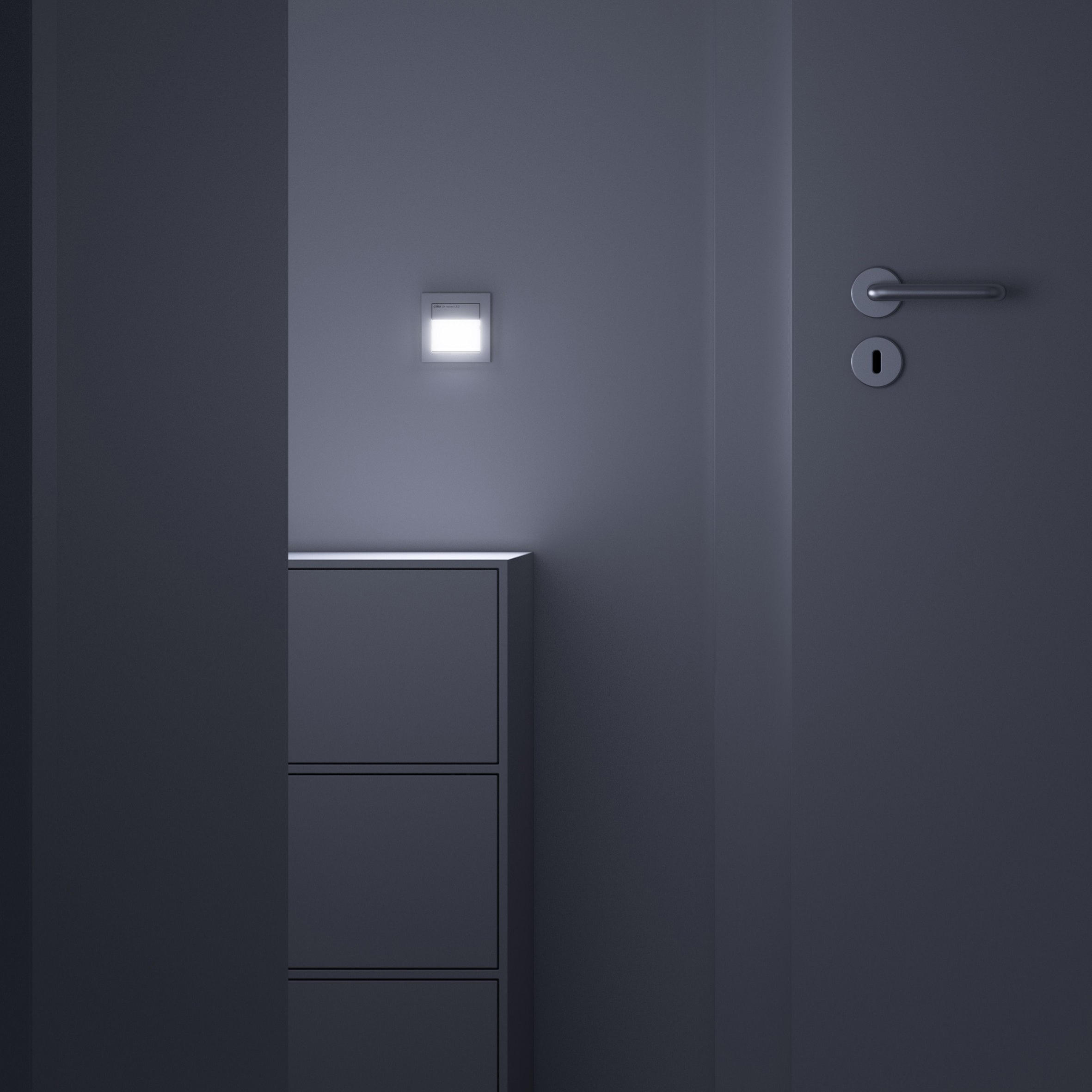 sensotec bewegungsmelder von gira architonic. Black Bedroom Furniture Sets. Home Design Ideas