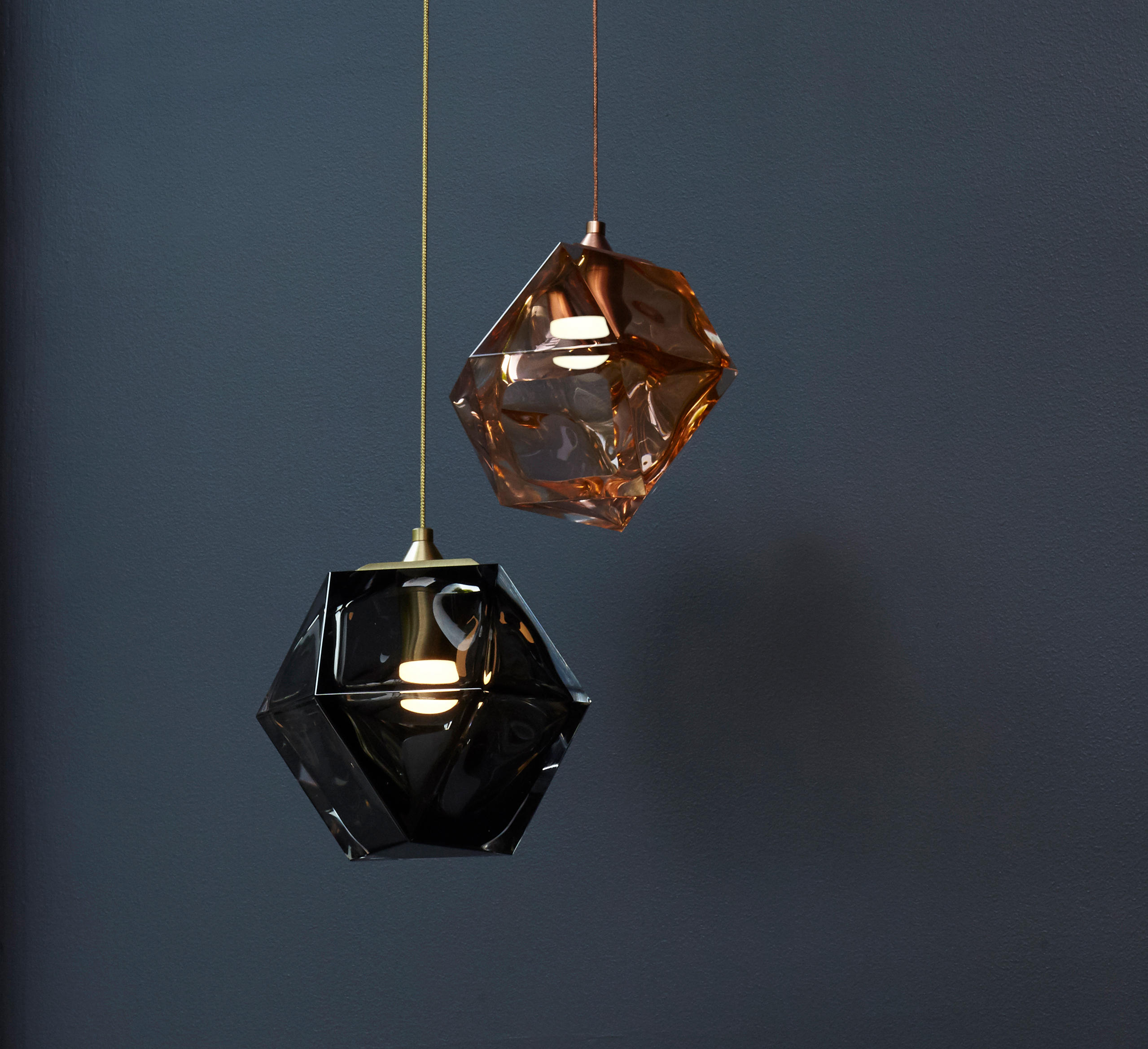 hand blown pendants of ocean set pendant molten excellent glass with lights