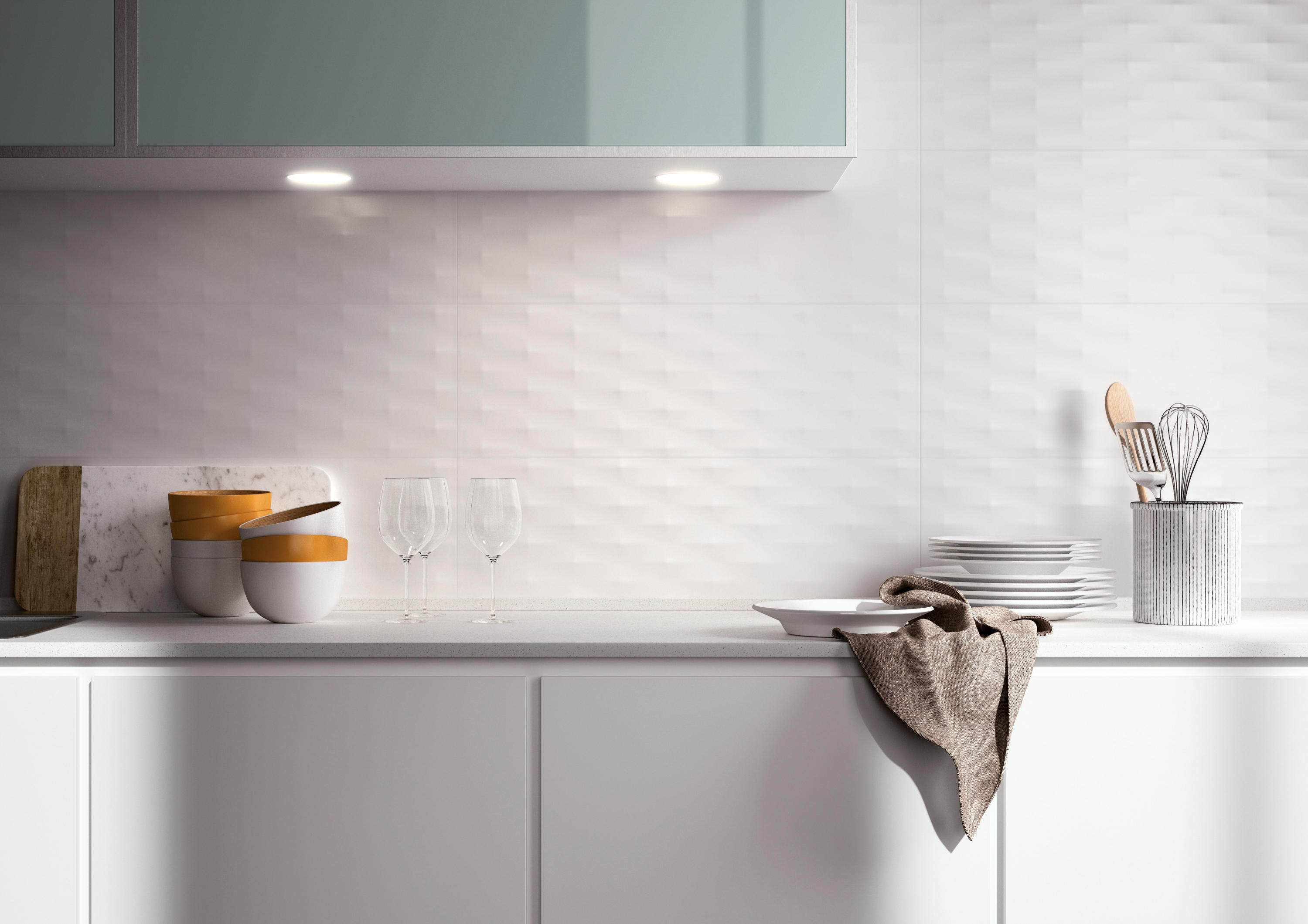 Lumina Sole Rose Bianco Gloss 25x75 Ceramic Tiles From