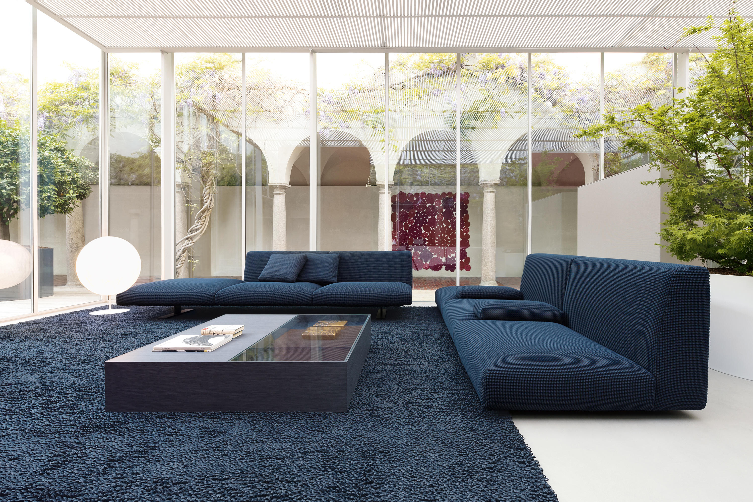 Move indoor modular seating system lounge sofas from for Paola lenti