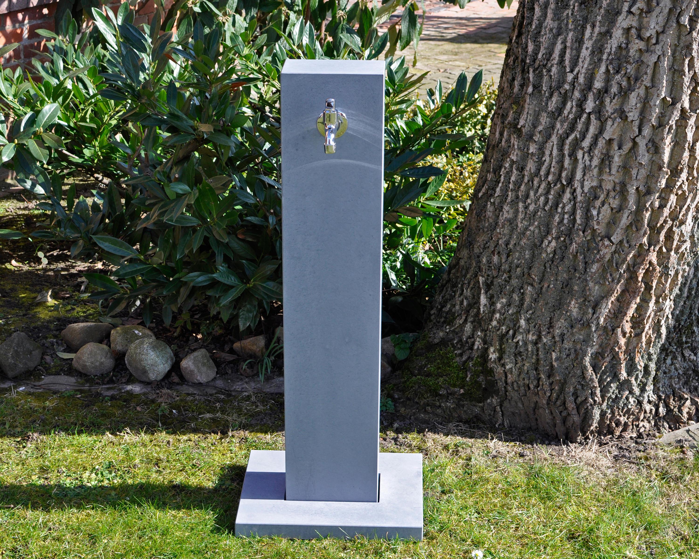 kaya garden washbasin - fontaines d'eau potable de oggi beton