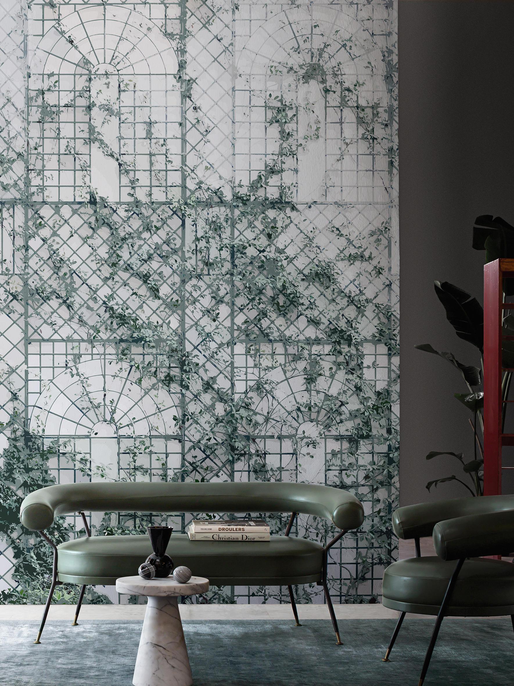 Treillage wandbel ge tapeten von wall dec architonic for Stoffa da parati