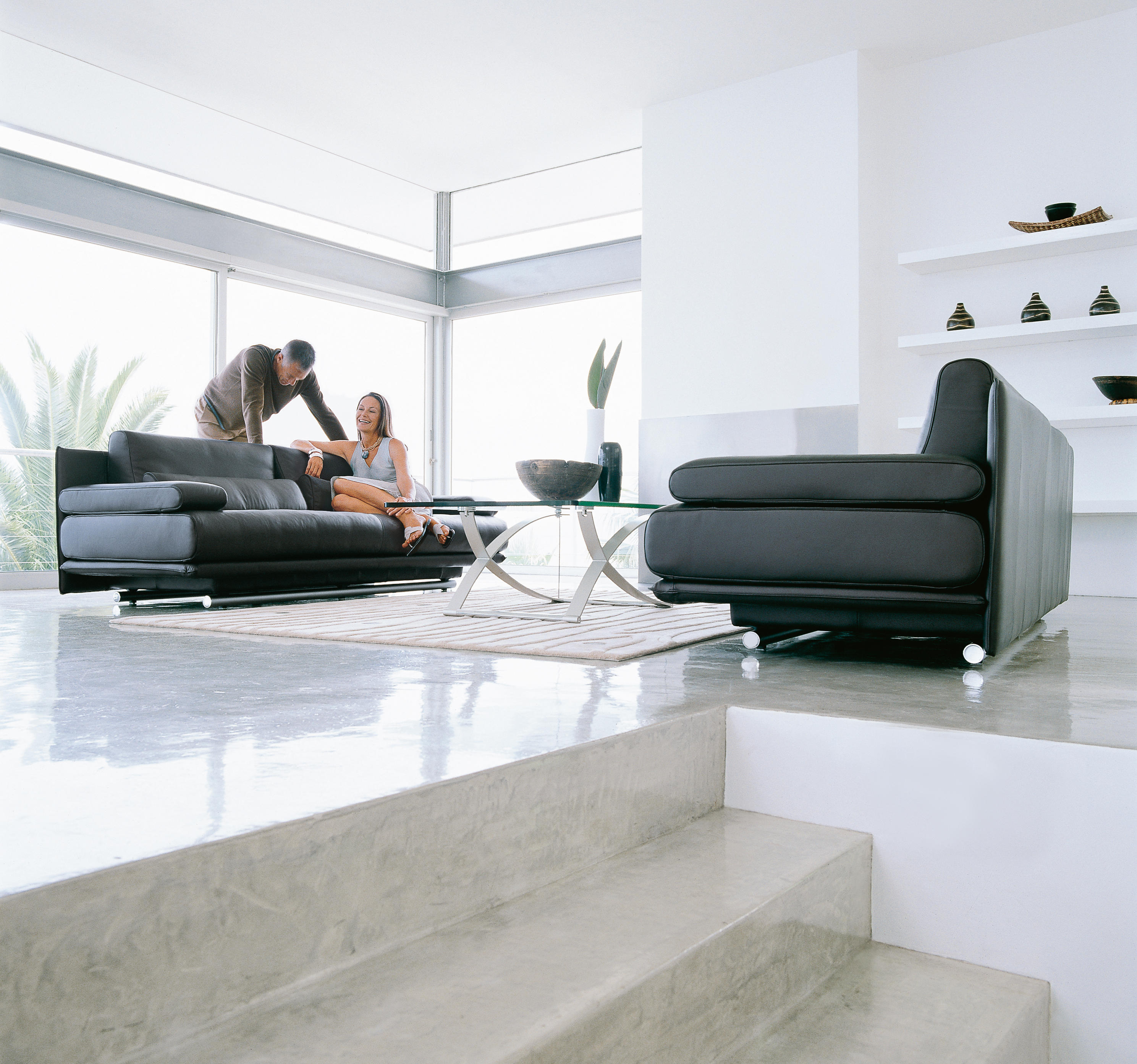 rolf benz 6500 lounge sofas from rolf benz architonic. Black Bedroom Furniture Sets. Home Design Ideas