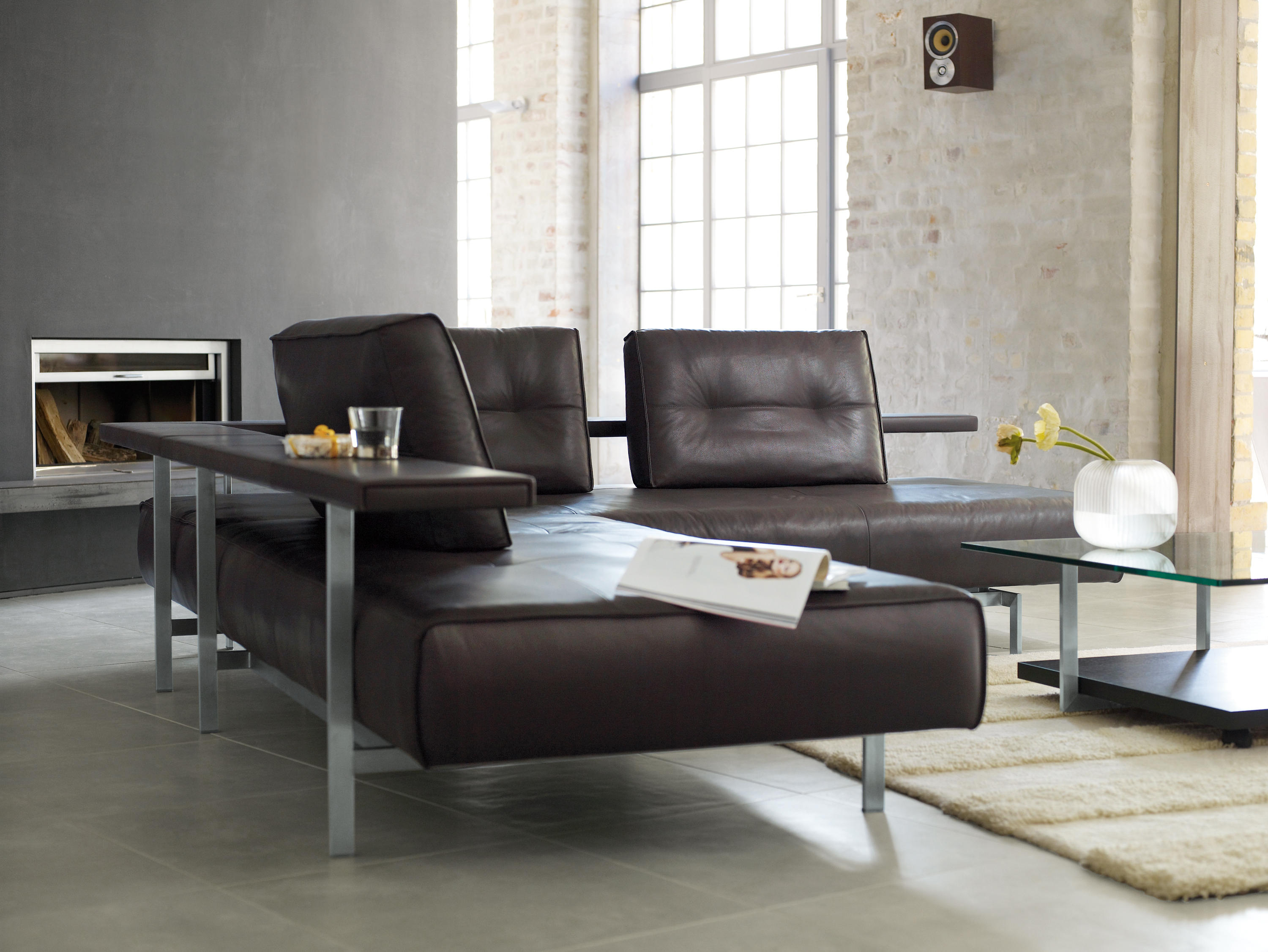 Rolf benz dono lounge sofas from rolf benz architonic for Rolf benz