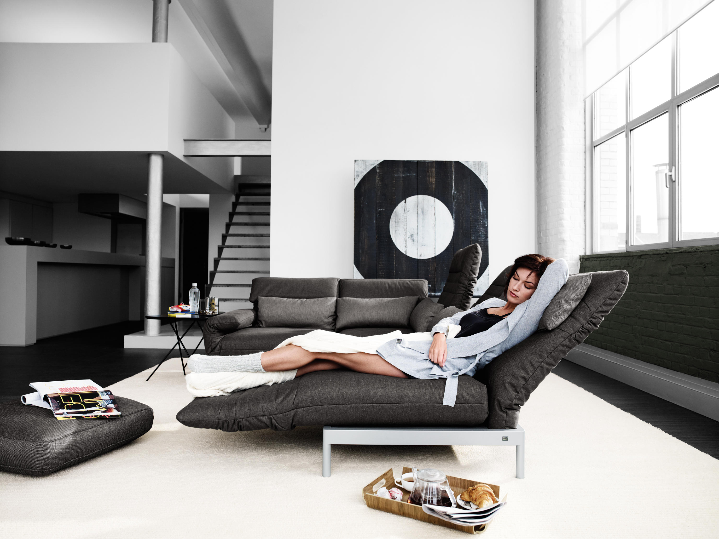 rolf benz plura sofas from rolf benz architonic. Black Bedroom Furniture Sets. Home Design Ideas