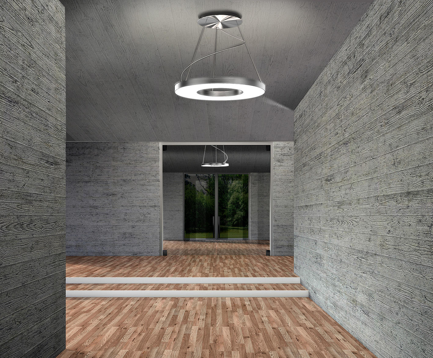 Vivaa ring suspended luminaire general lighting from h for Luminaire 3 suspensions