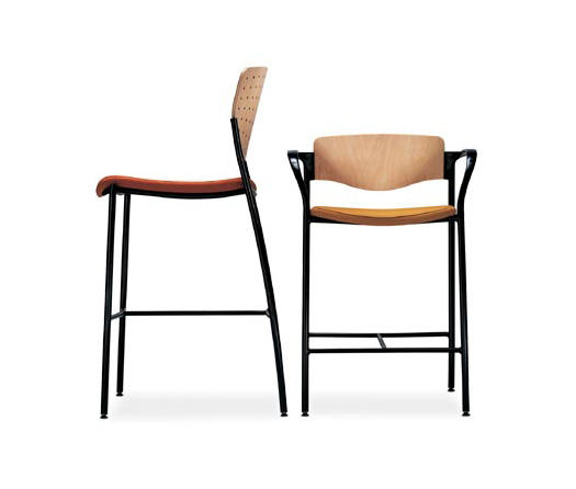 WELCOME BAR STOOL HALF BACK Bar stools from Stylex  : welcome 9 hr 3 b from www.architonic.com size 525 x 446 jpeg 14kB