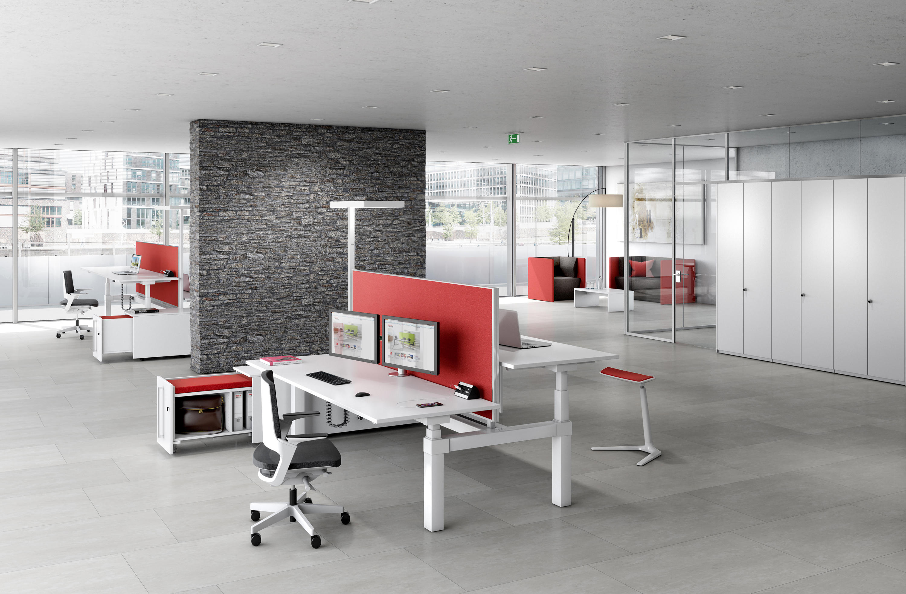 CANVARO COMPACT DESKING PROGRAMME - Desking systems from Assmann ...